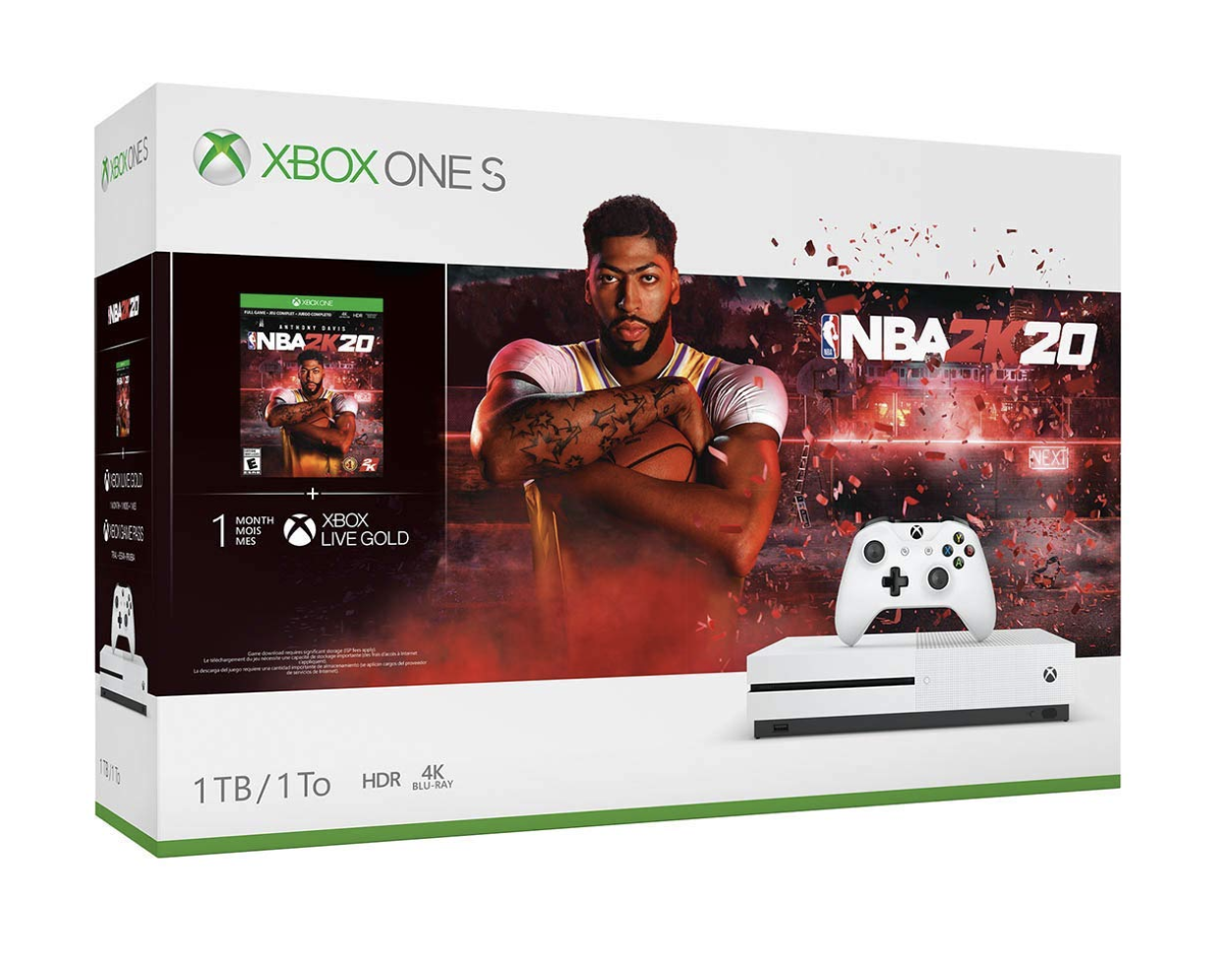 Xbox One S ITB Console - NBA 2K20 Bundle
