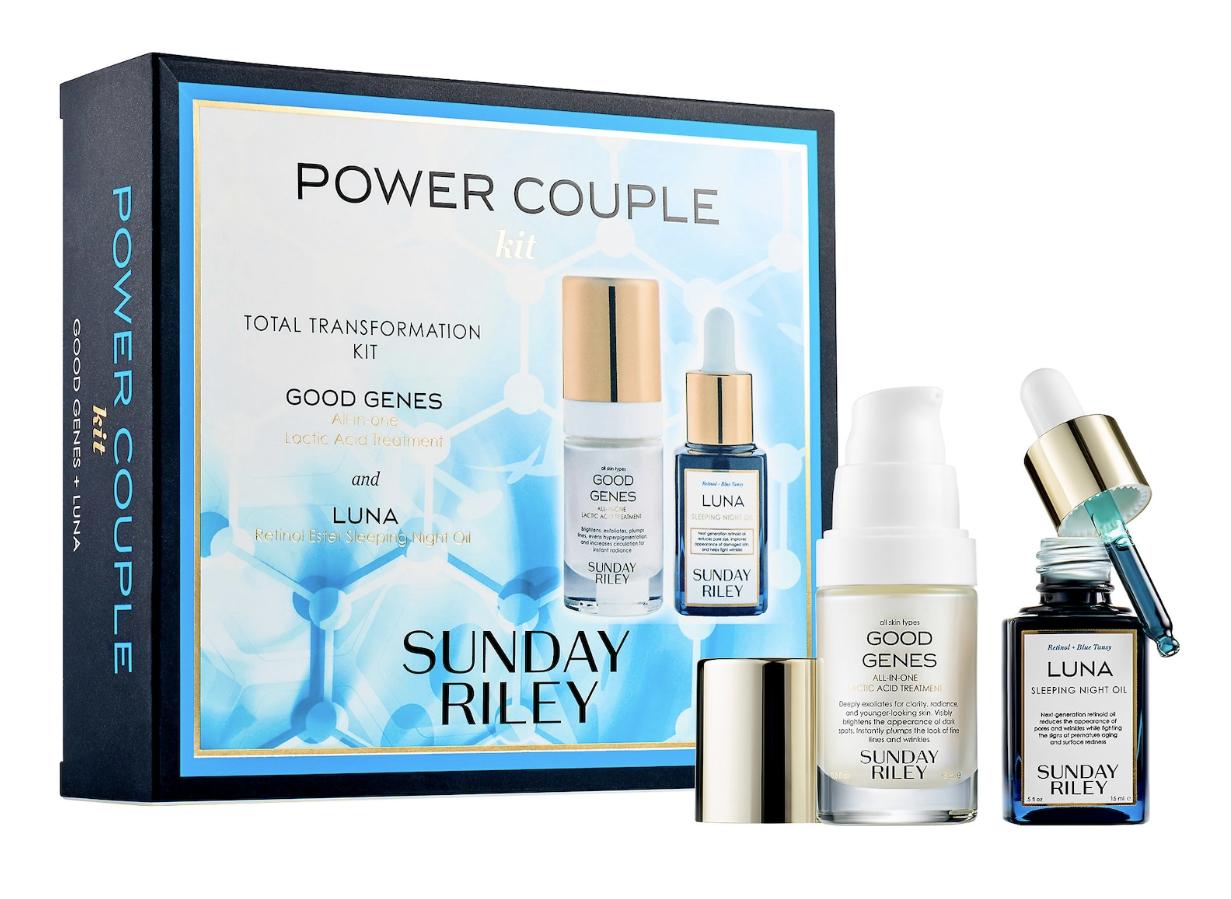 Sunday Riley Power Couple: Lactic Acid and Retinol Kit