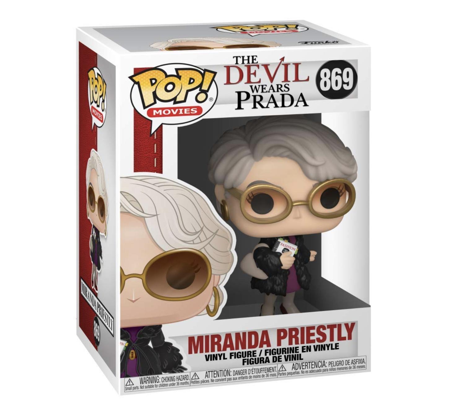 Funko Pop! Movies: The Devil Wears Prada, Miranda Priestly