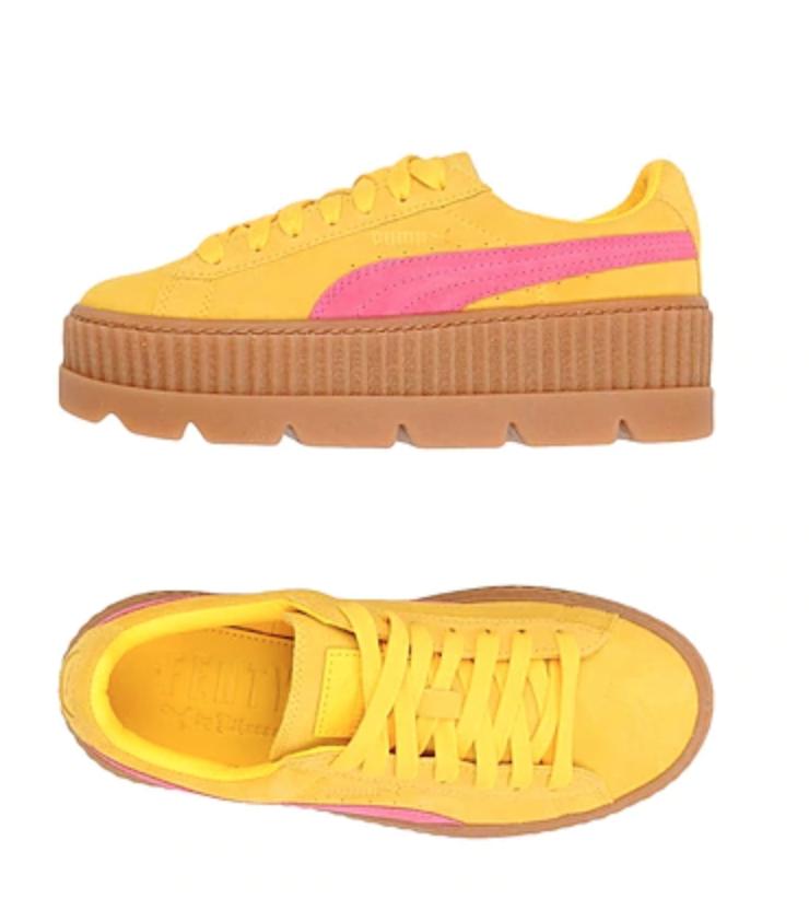 fenty puma creeper sneakers