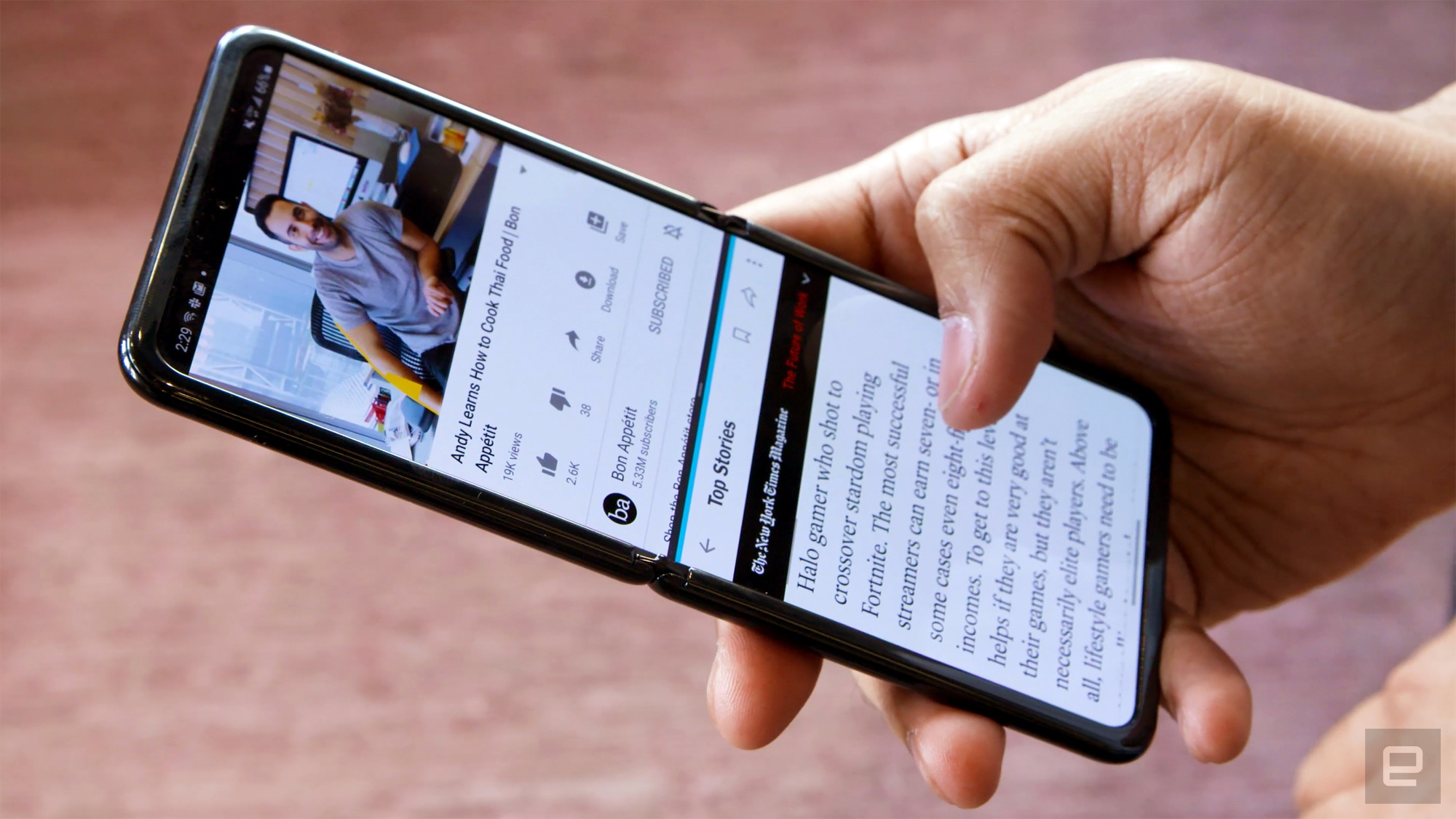 Samsung Galaxy Z Flip Review Admire It Don T Buy It