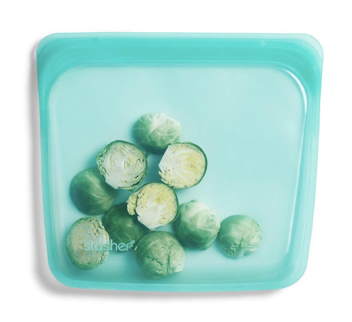 Stasher 100 Percent Silicone Reusable Food Bag