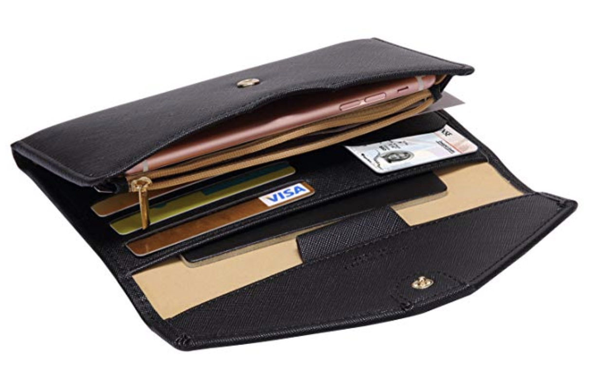 Zoppen Multi-Purpose Travel Passport Wallet and Document Organizer