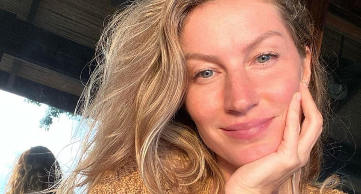 Gisele Bundchen makeup free selfie: Her beauty routine