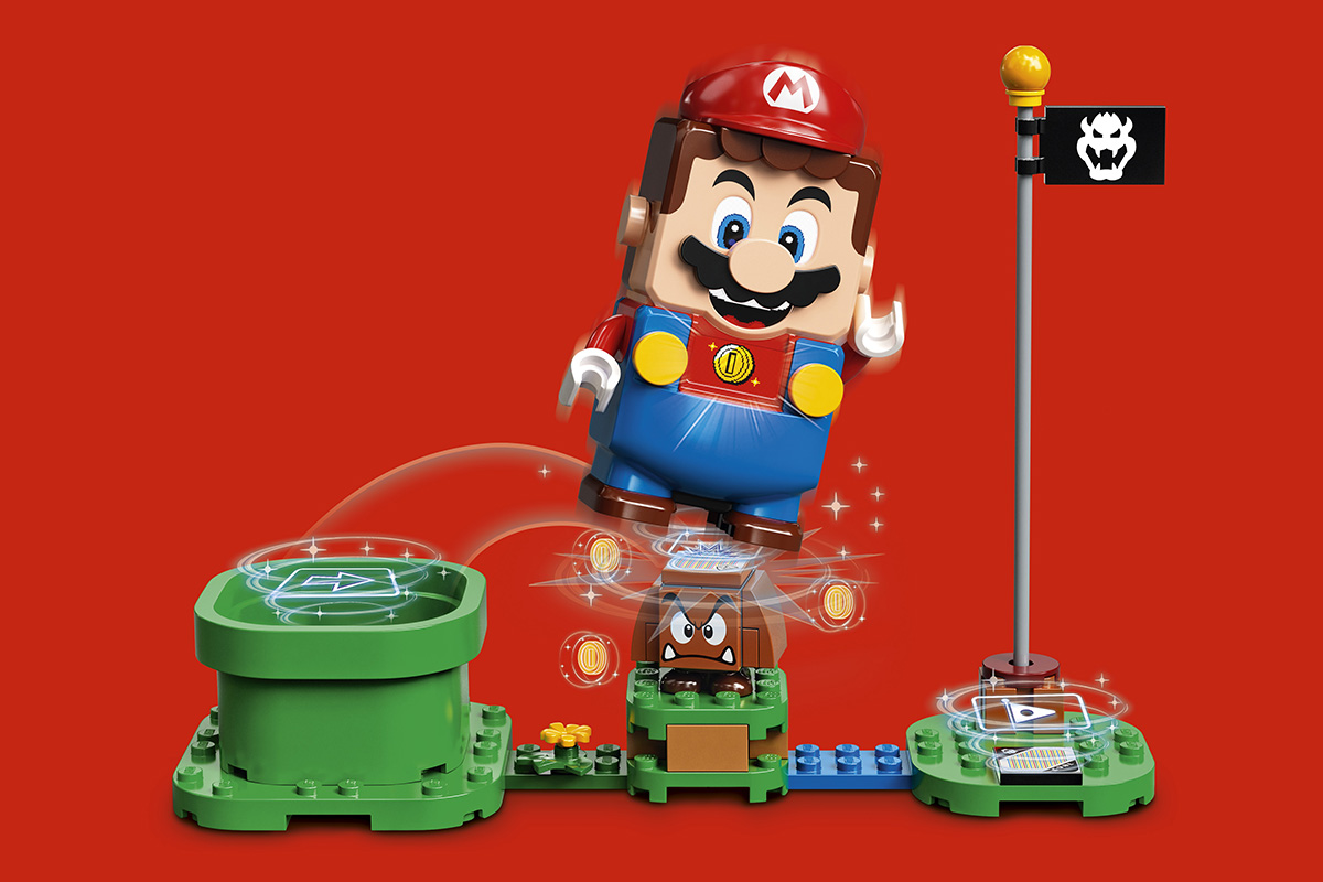 "Photo of ""Lego x Super Mario"" first collaboration, digital block toy made and play course announced-Engadget Japan version"