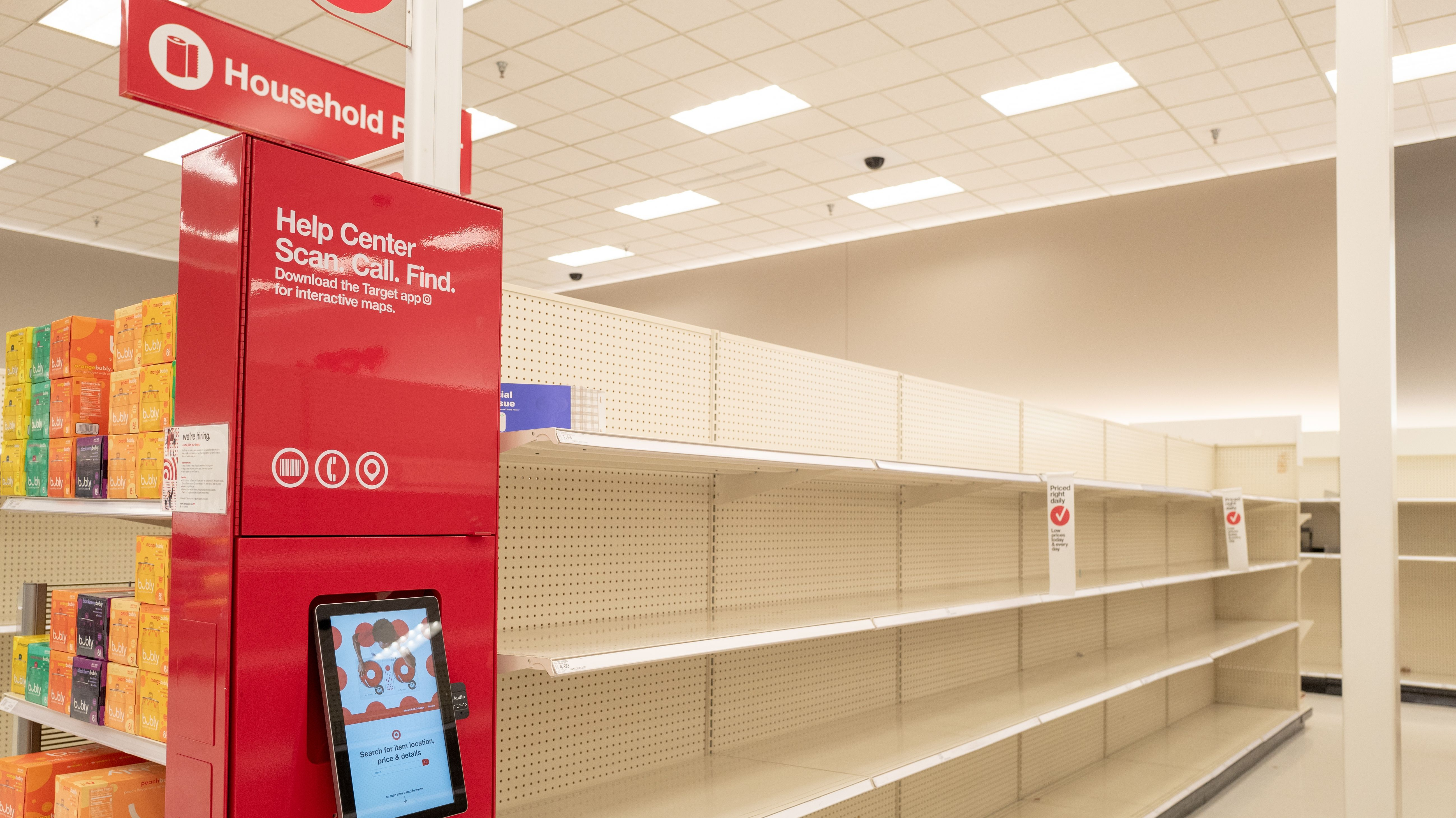 How Target And Kroger Are Handling Stock Issues