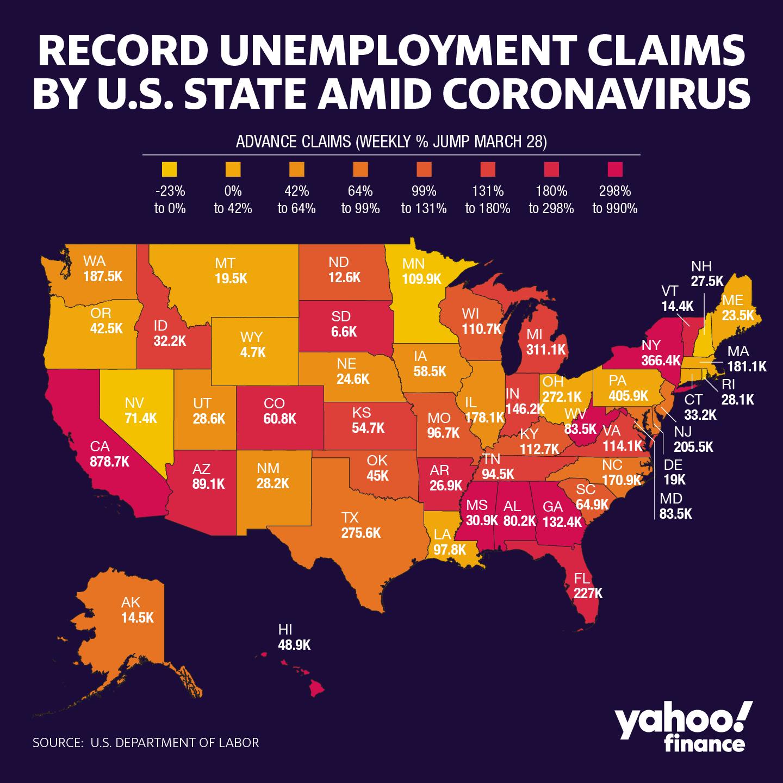 Coronavirus Job Losses Hit These States Hardest [Video]