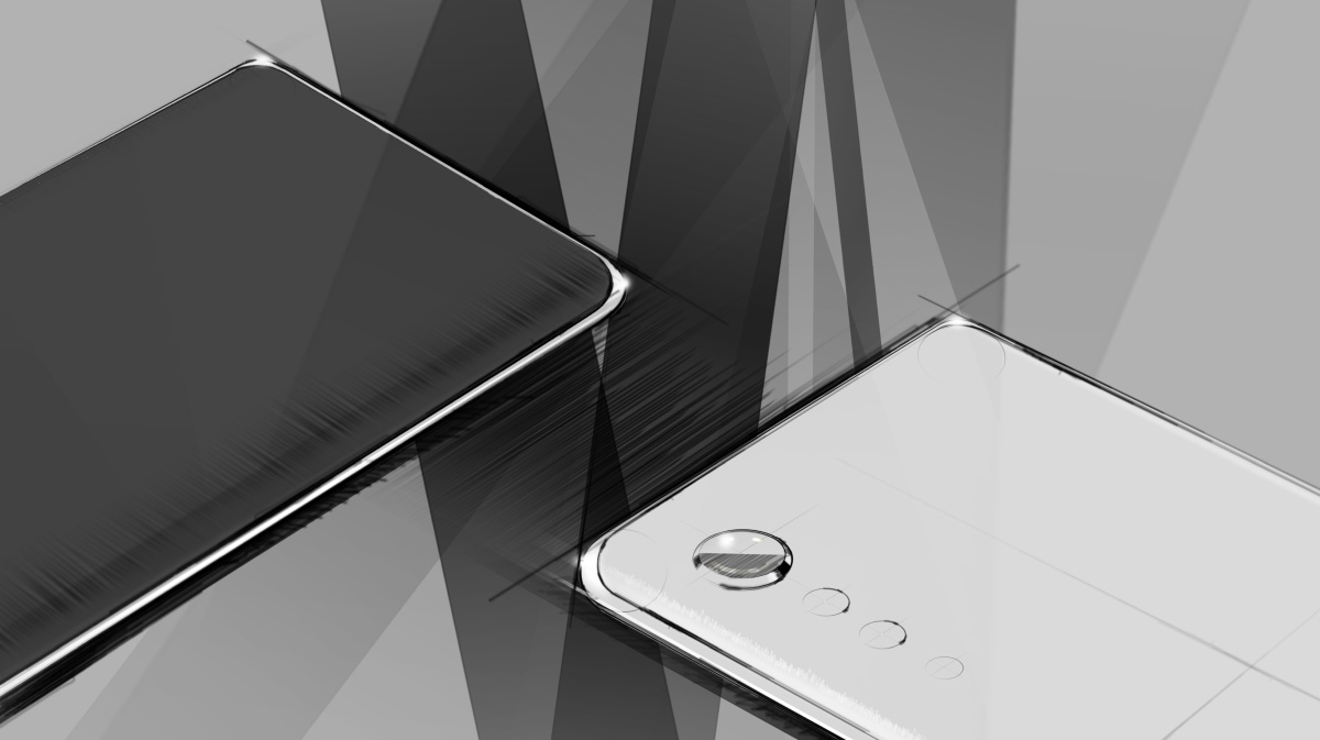 photo of LG teases curved edges and 'Raindrop' camera for its next phone image