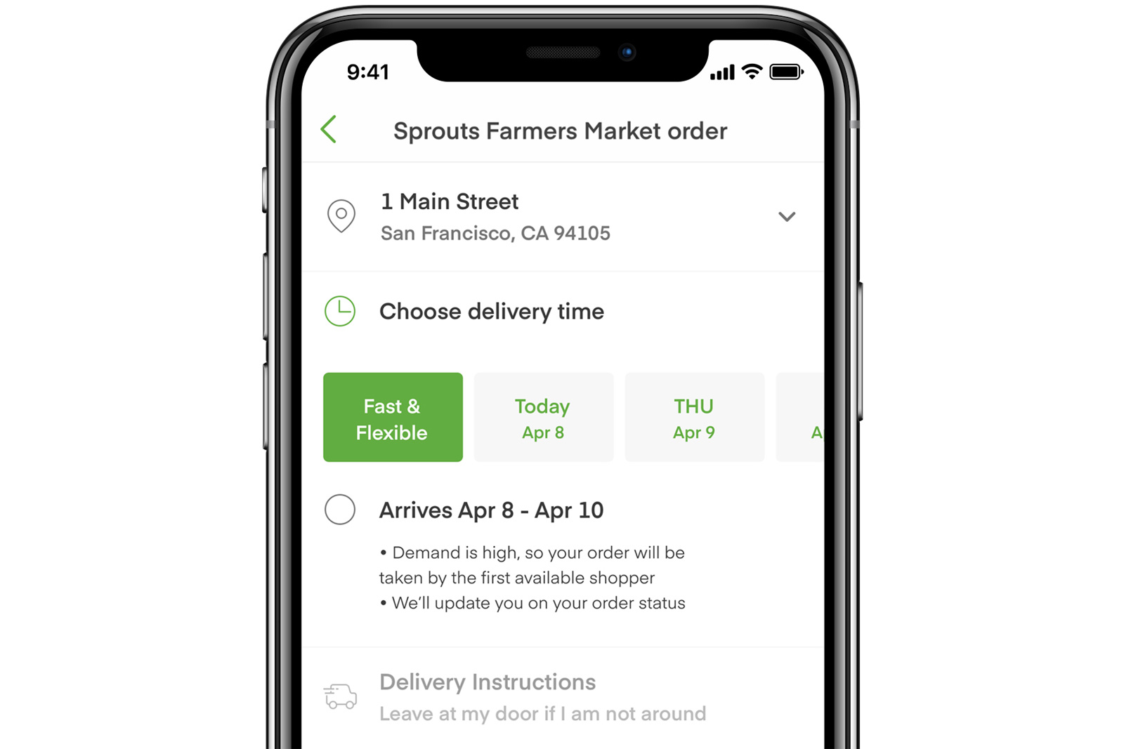 photo of Instacart hopes to expedite deliveries with 'first available shopper' option image