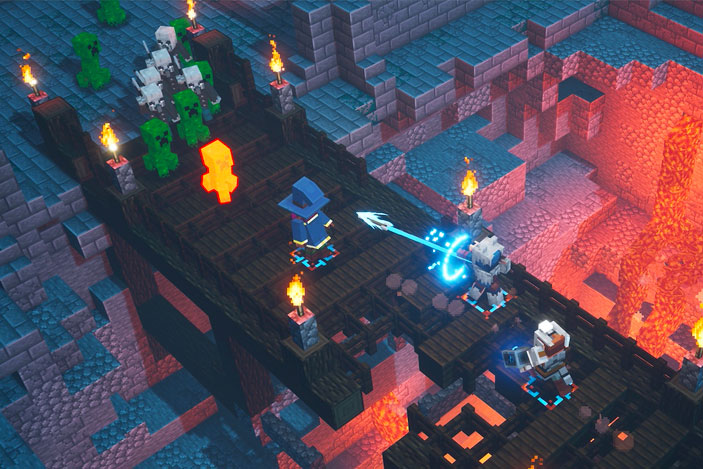 'Minecraft Dungeons' is the reason 'Minecraft' has evil villagers