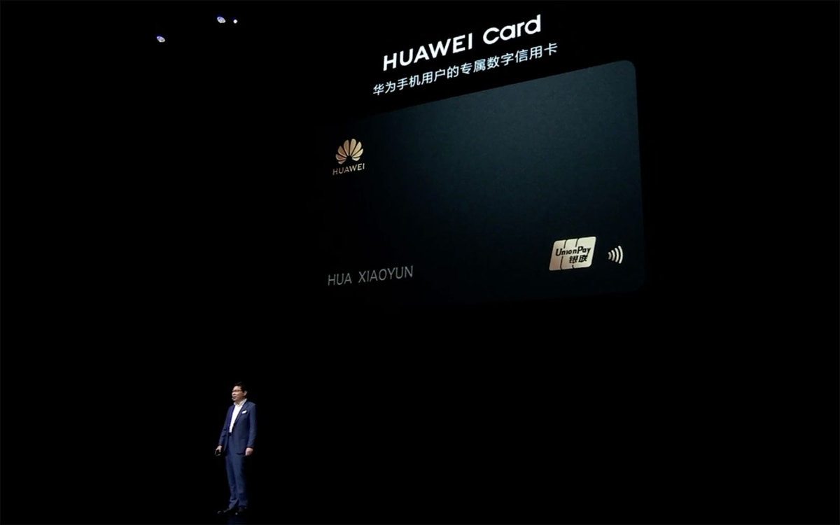 photo of Of course Huawei will have its own credit card image