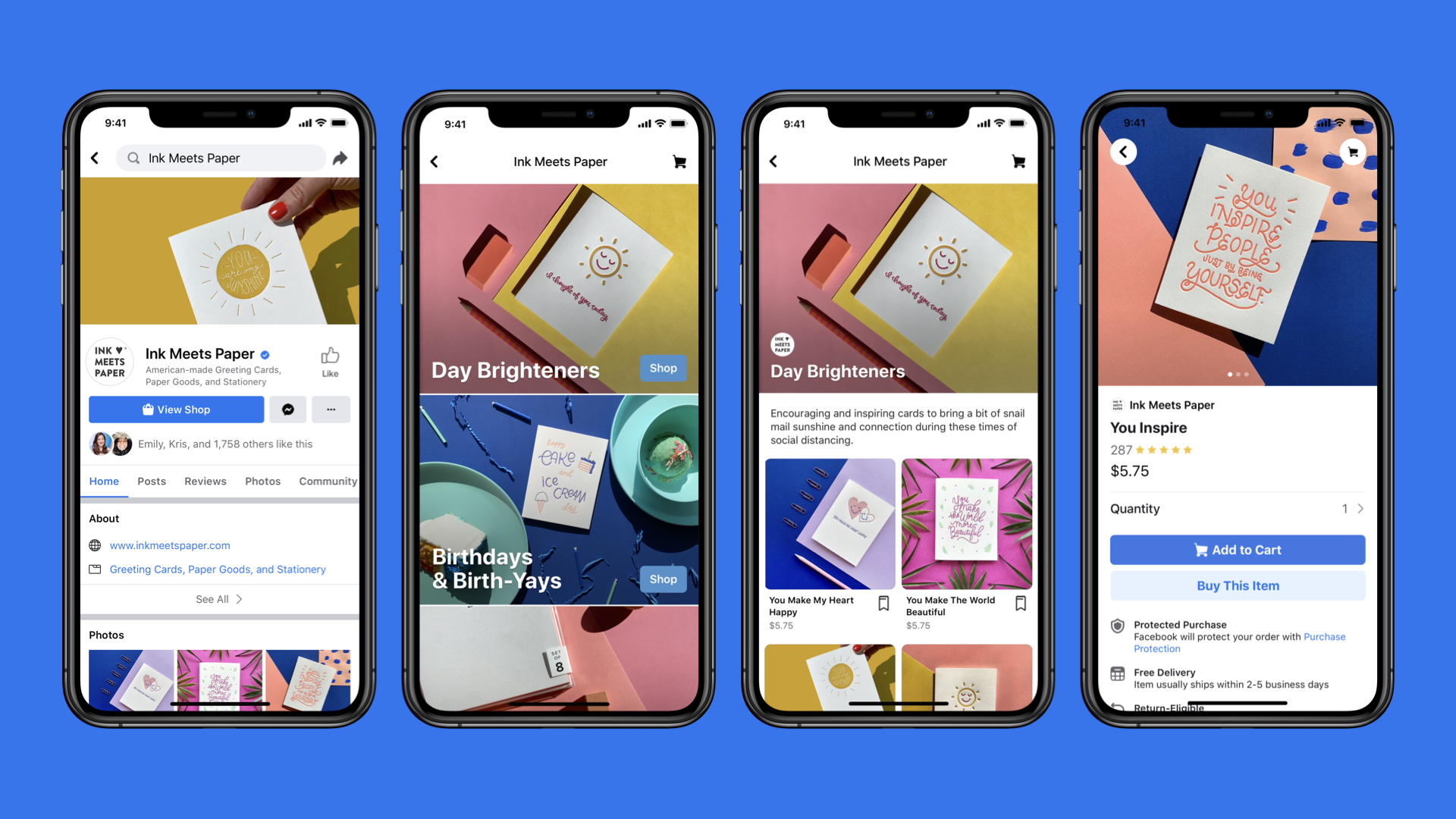 Facebook Shops turn business pages into online stores | Engadget