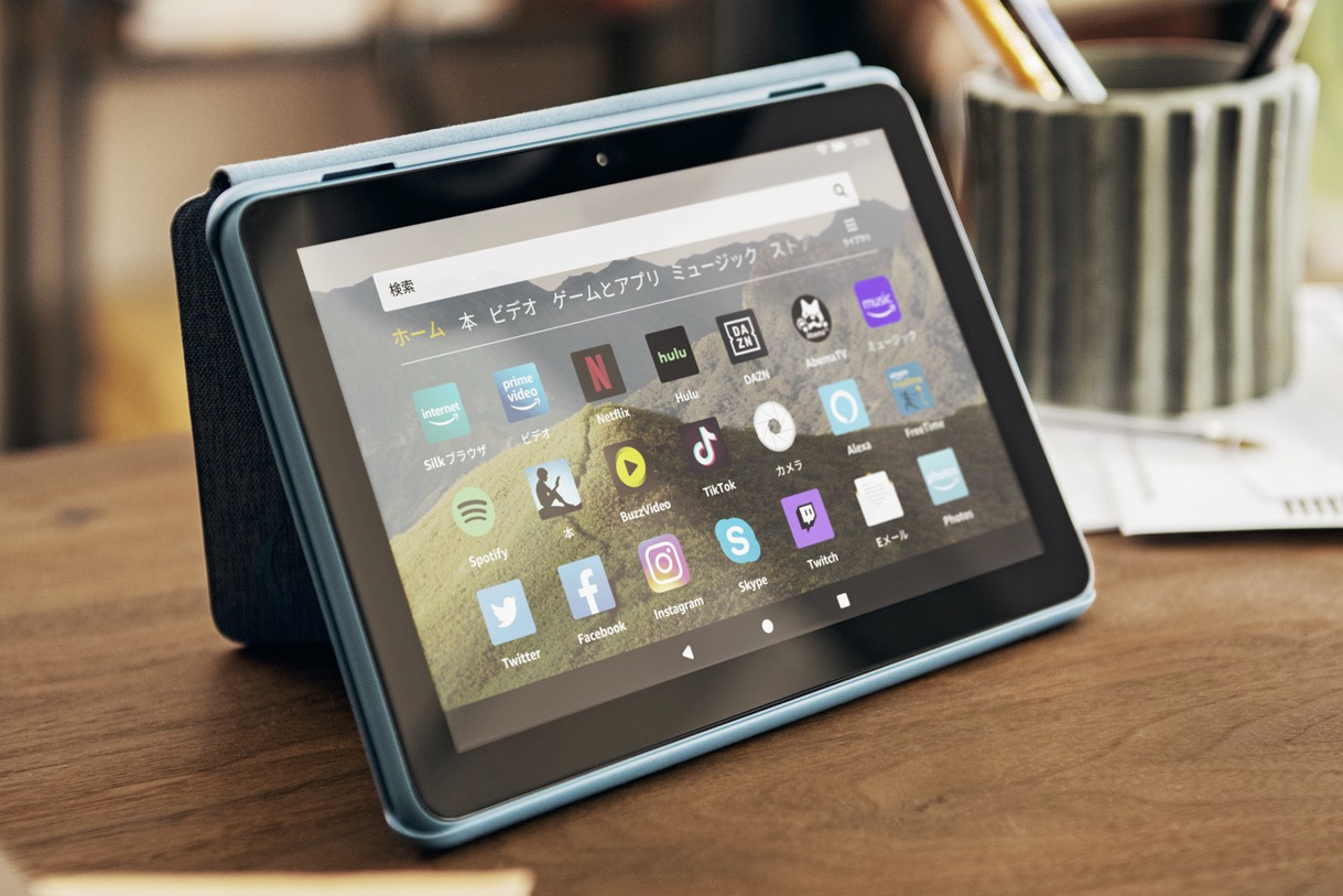 Photo of Amazon announces Fire HD 8 Plus RAM capacity up, wireless charging installed 11,980 yen ~