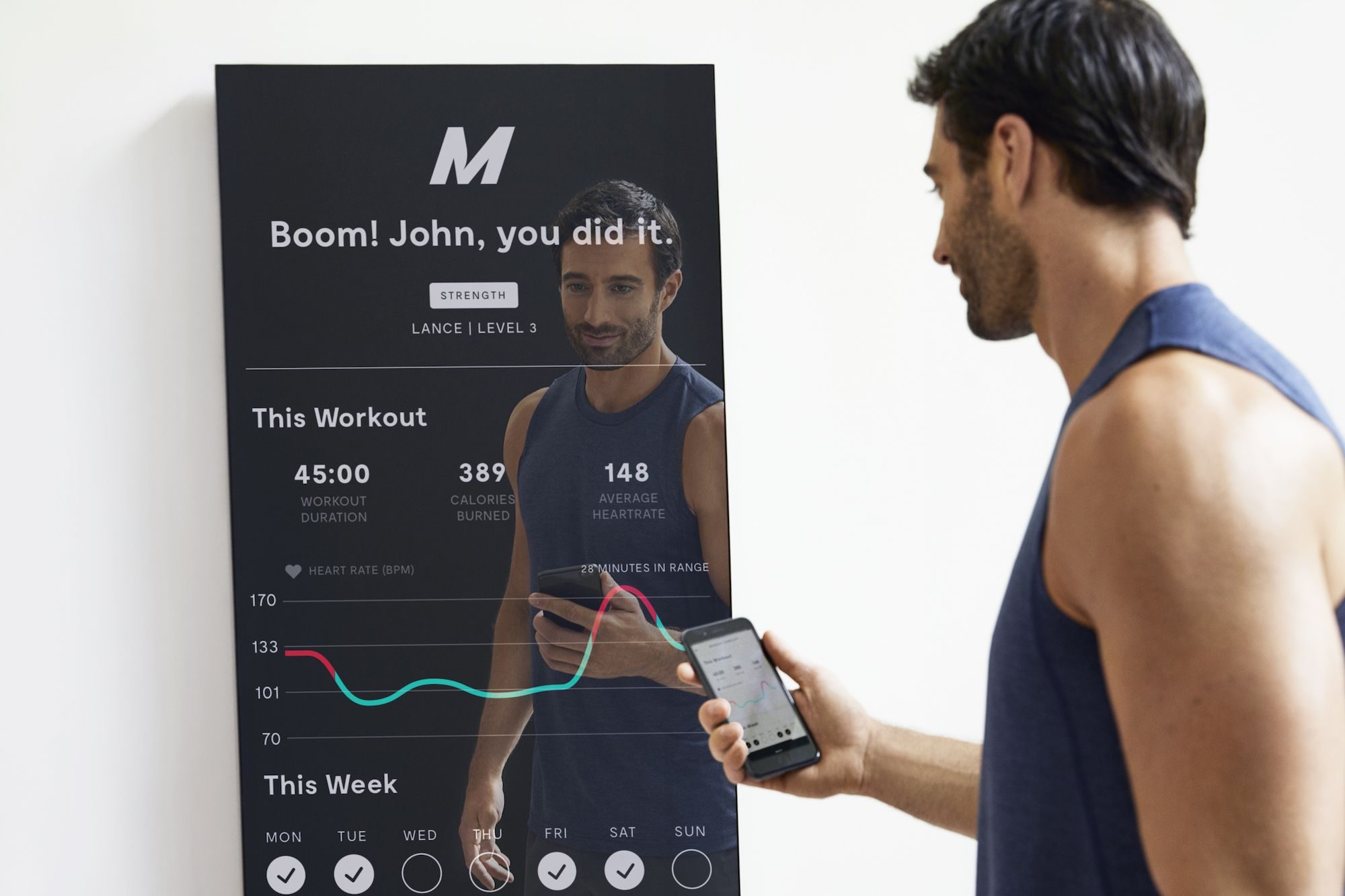 photo of Lululemon buys interactive home gym startup Mirror for $500 million image