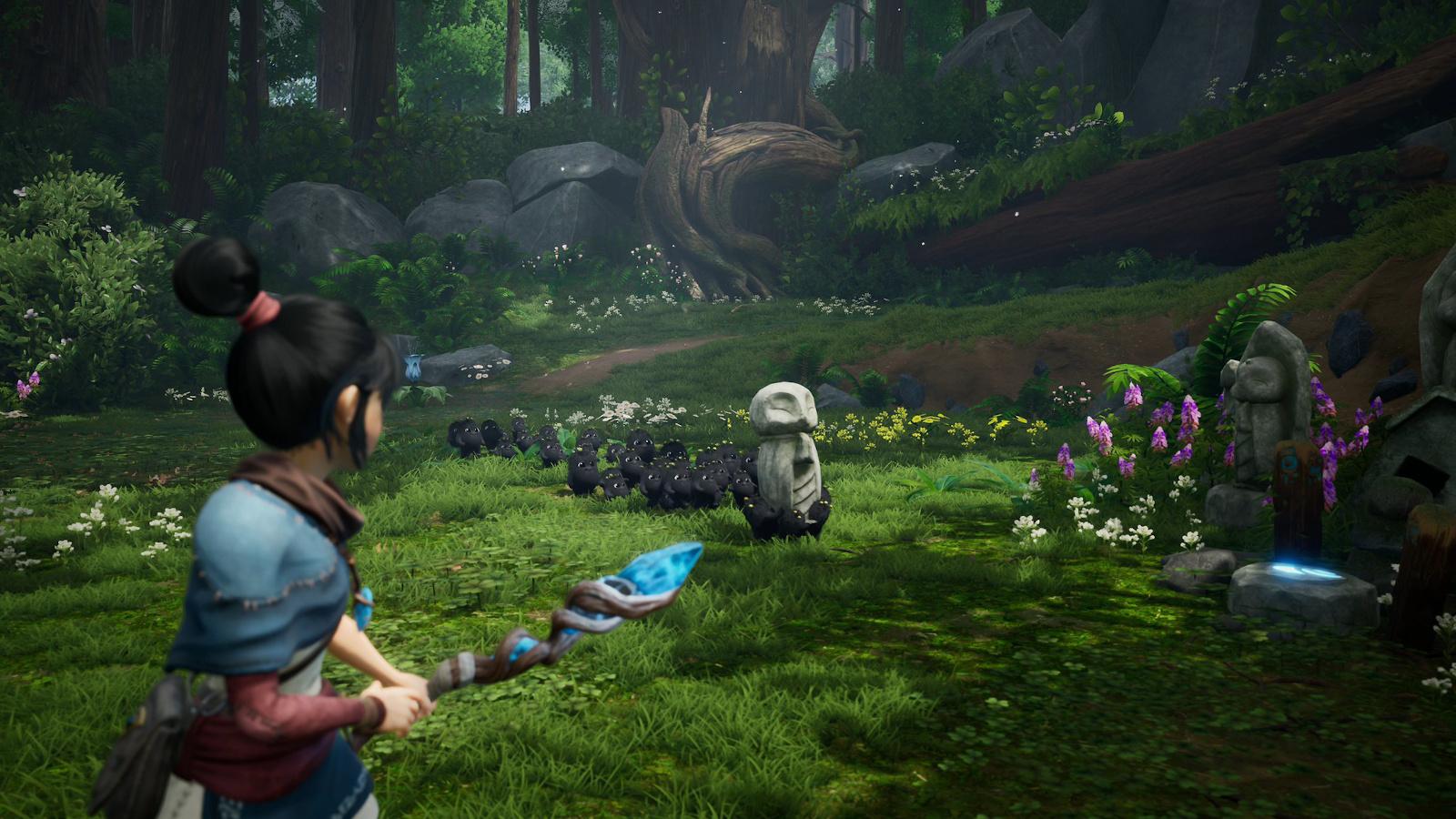 Kena: Bridge of Spirits' PS5 trailer shows off Pixar-like graphics   Engadget