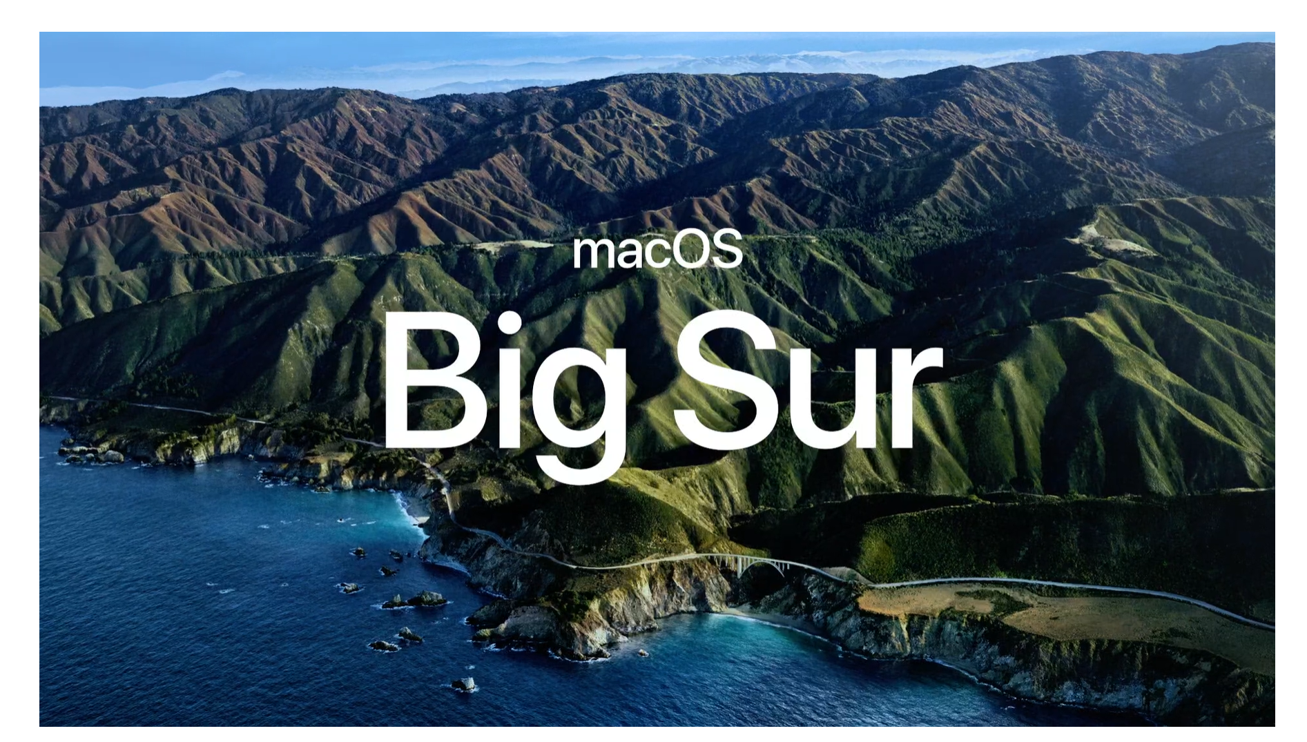 The Next Version Of Macos Will Be Called Big Sur Engadget