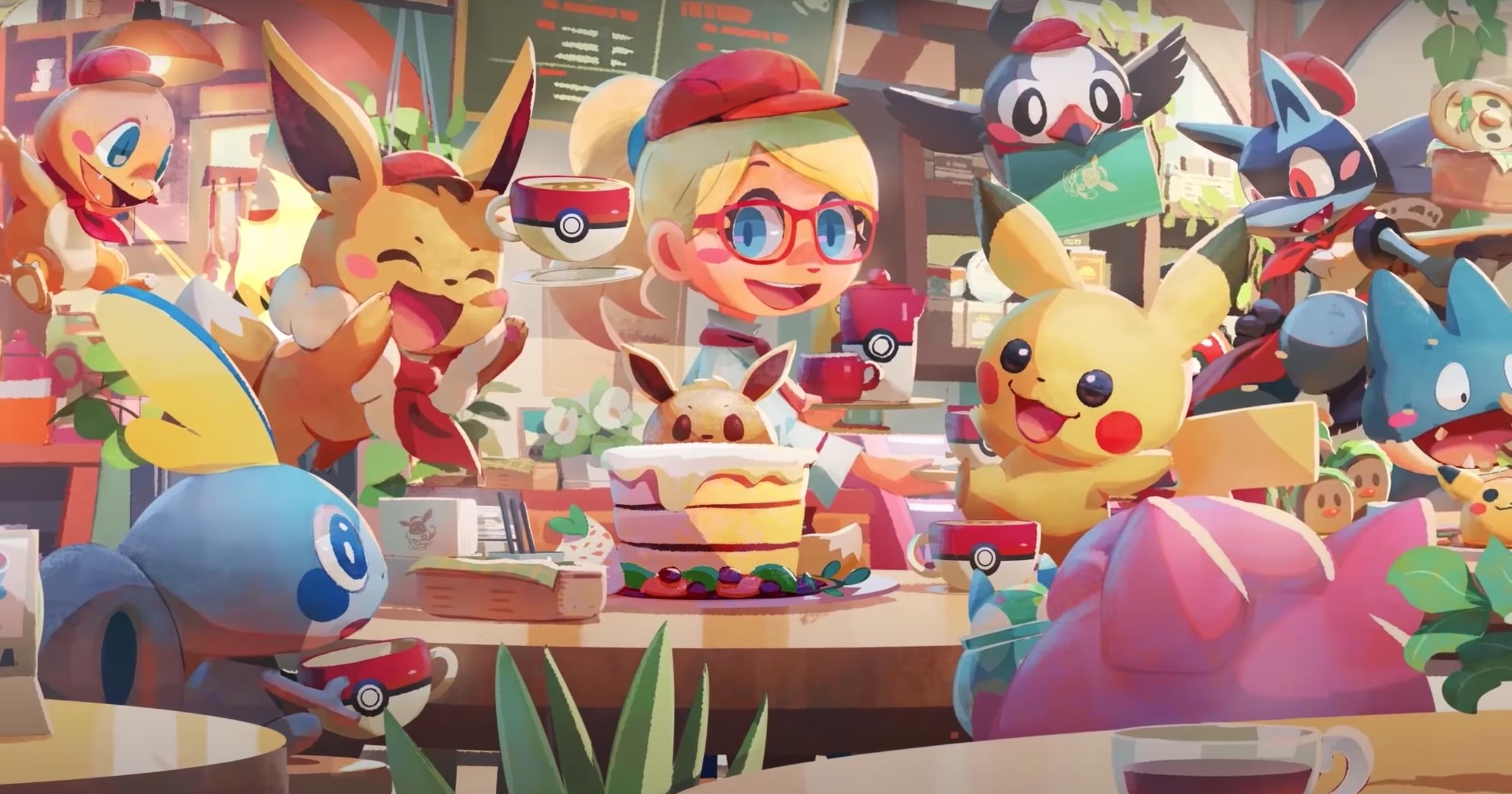 Pokémon Café Mix' is a puzzler and café management game in one ...