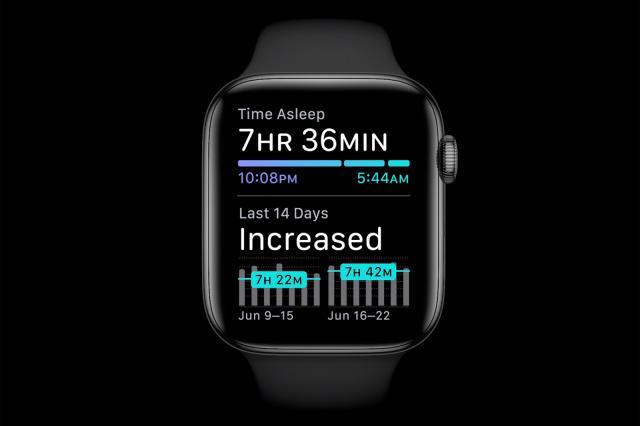 睡眠 アプリ ウォッチ アップル
