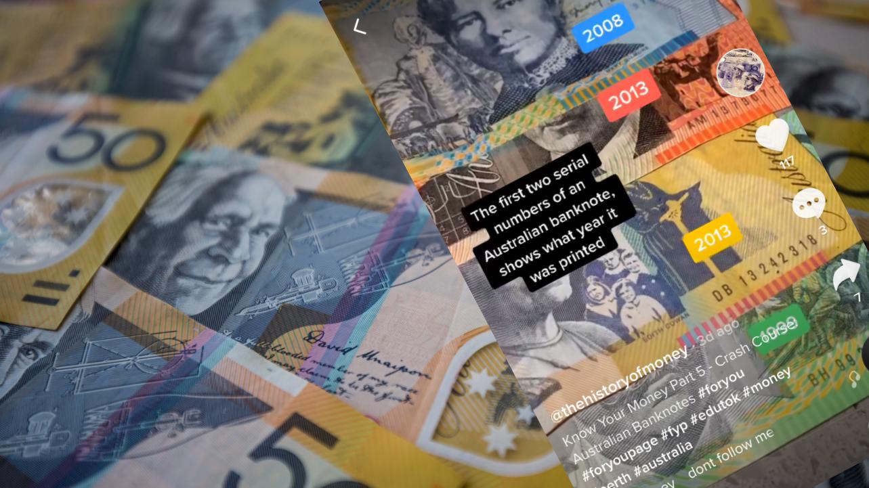 Viral TikTok explains 'code' on Aussie bank notes