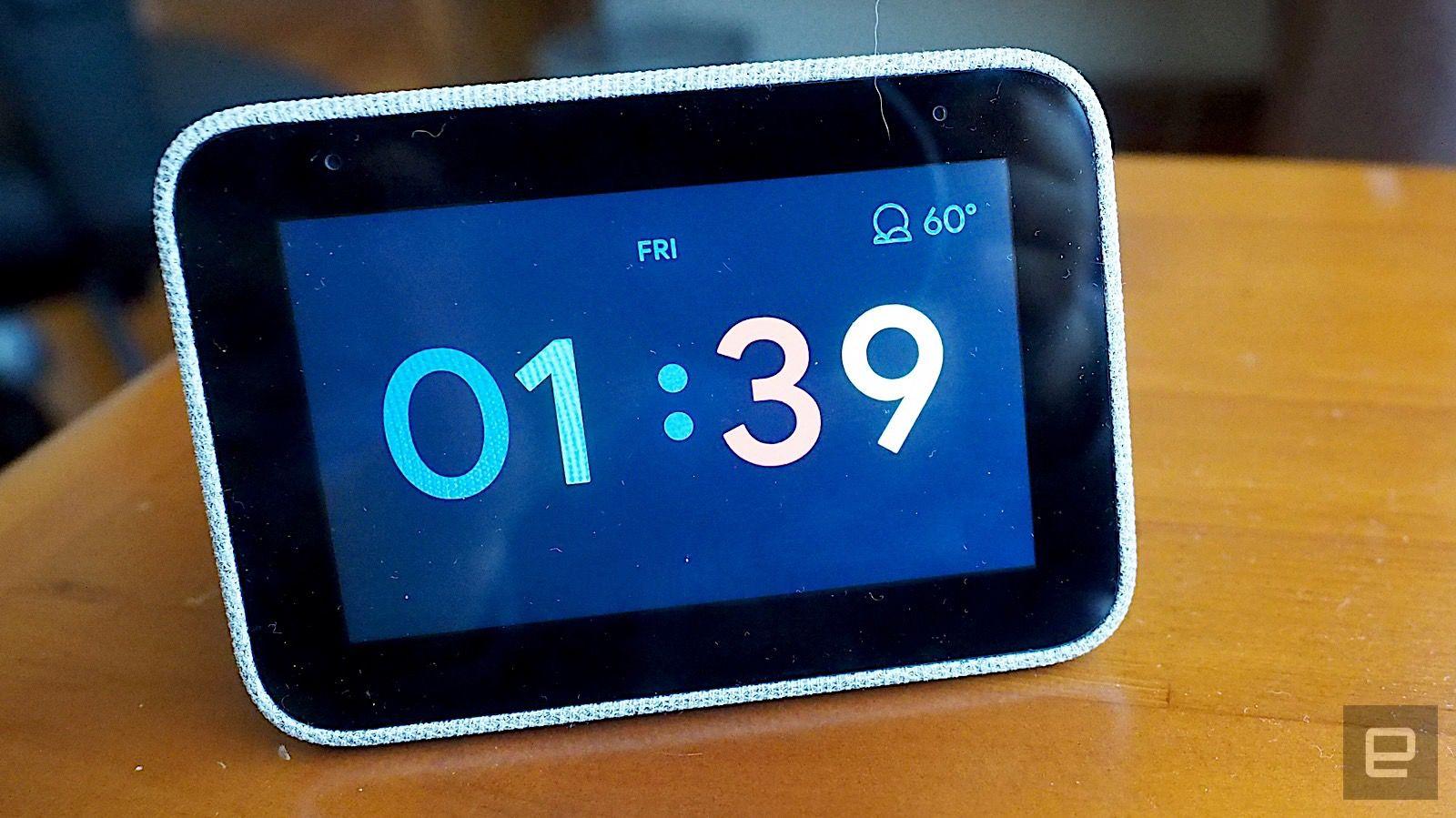 Lenovo's Google-powered Smart Clock drops to $40 at Best Buy #rwanda #RwOT Benfica