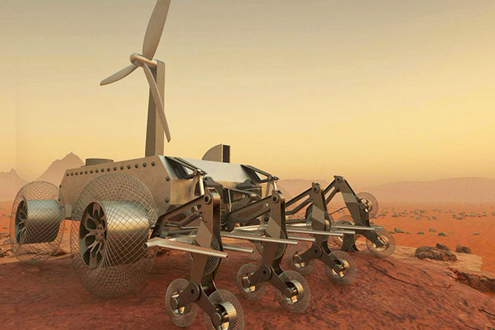 Designers help a rover navigate the crushing furnace of Venus