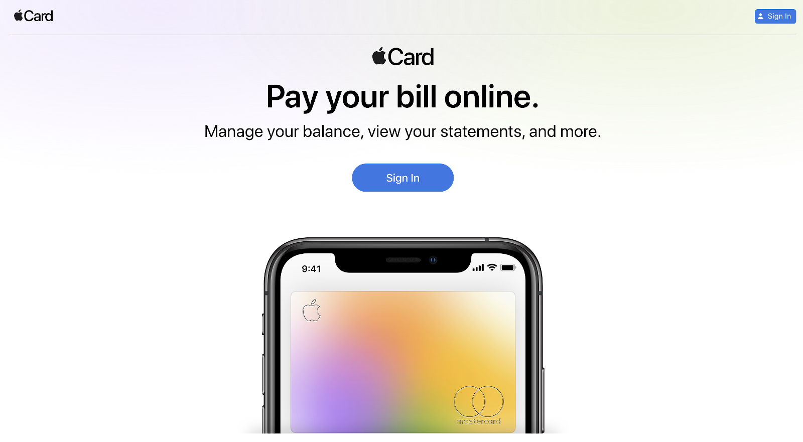 Apple Card's new web portal lets you pay your balance on a PC