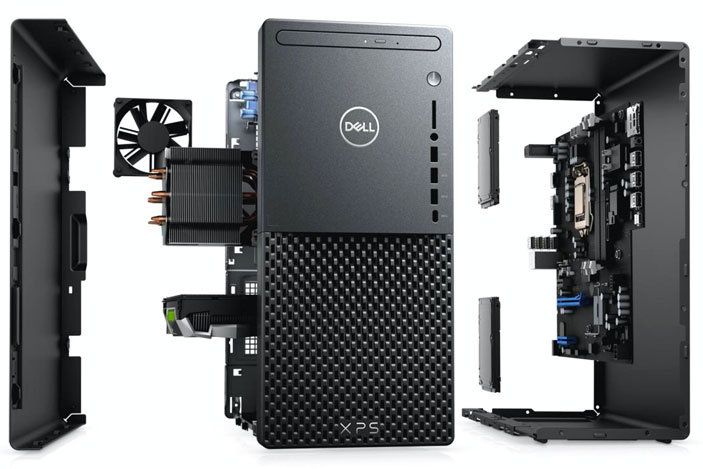 Dell's XPS Desktop fits NVIDIA and AMD graphics inside a smaller case