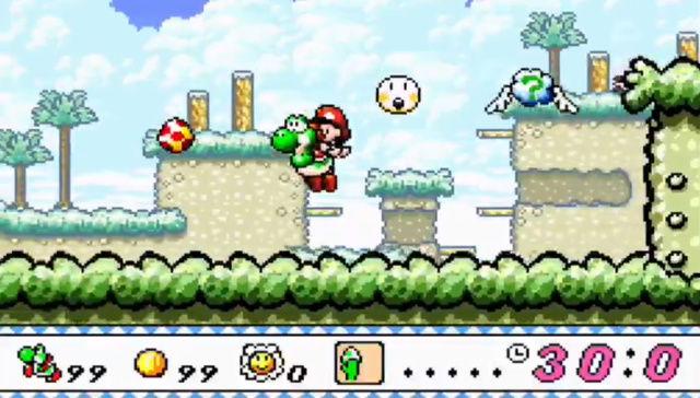 Super Mario Yoshi Island