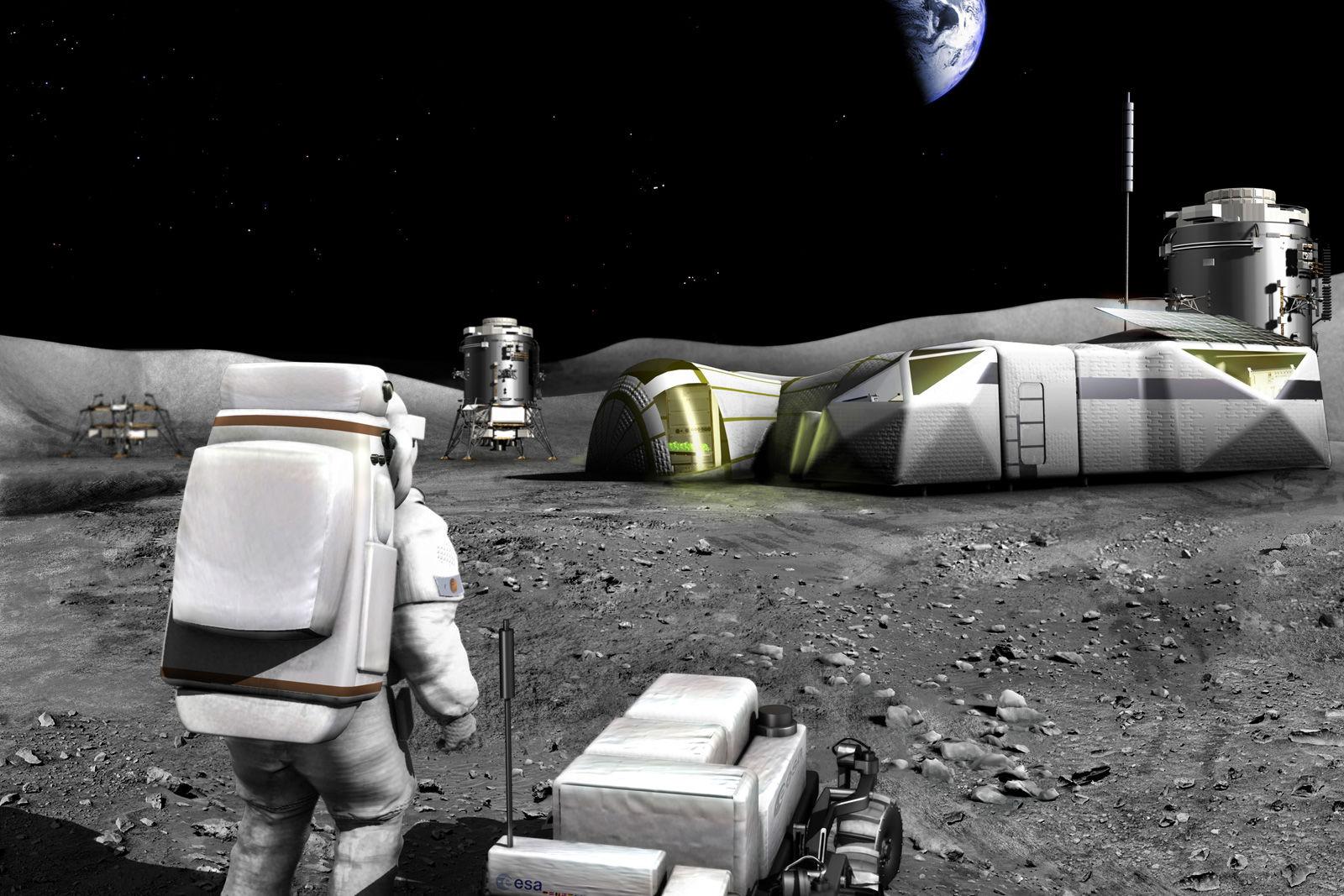 Moon habitat