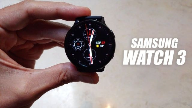 Photo of Galaxy Watch 3 (?) Trial leak video released. Introducing rotating bezels and buttons-Engadget Japan