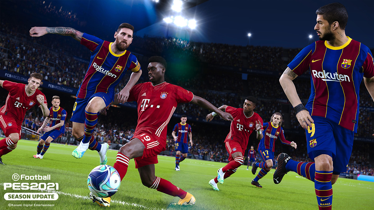 The scaled-back 'PES 2021' arrives on September 15th | Engadget