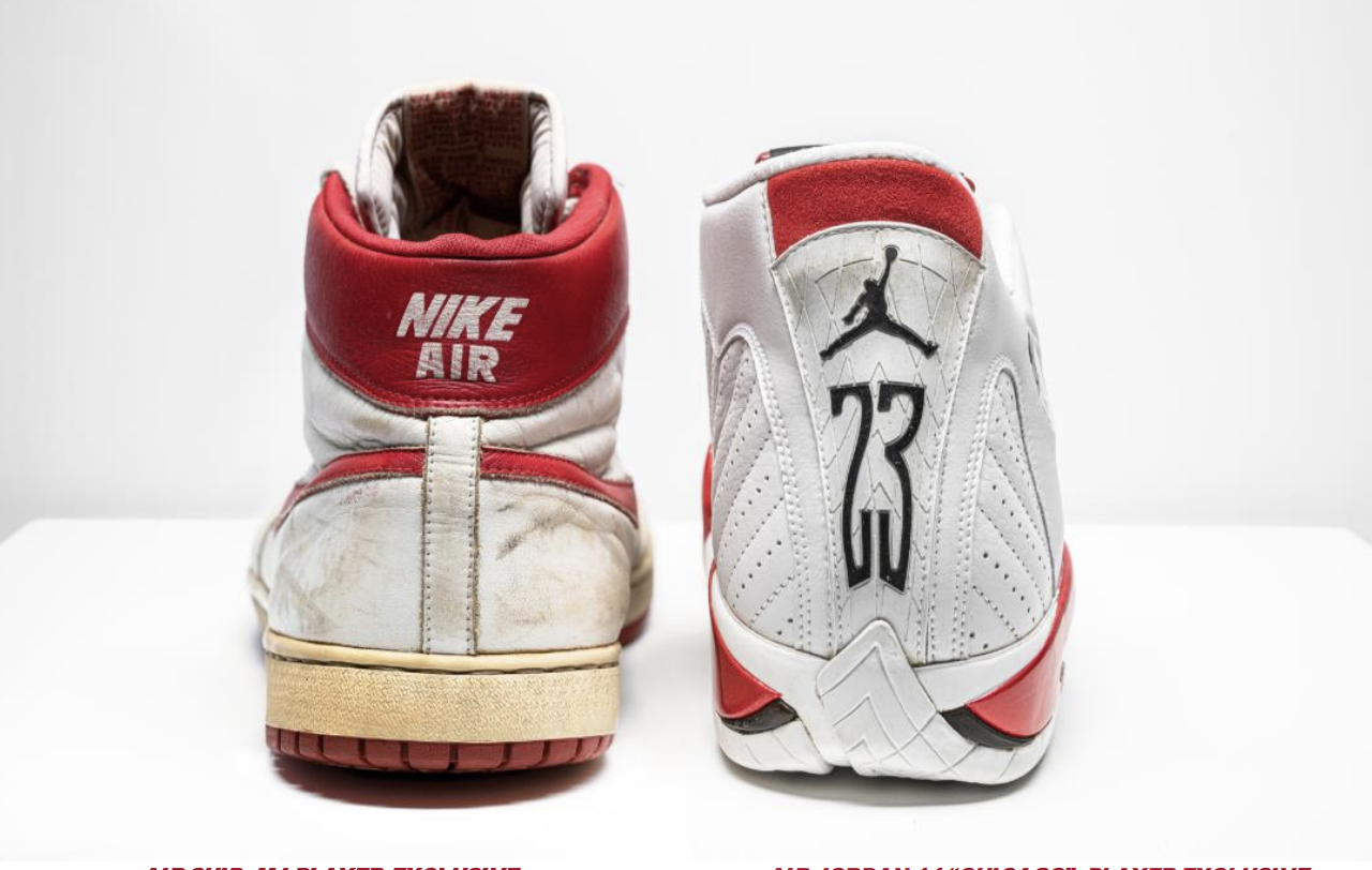 Extremely rare Air Jordan sneakers are going up for auction