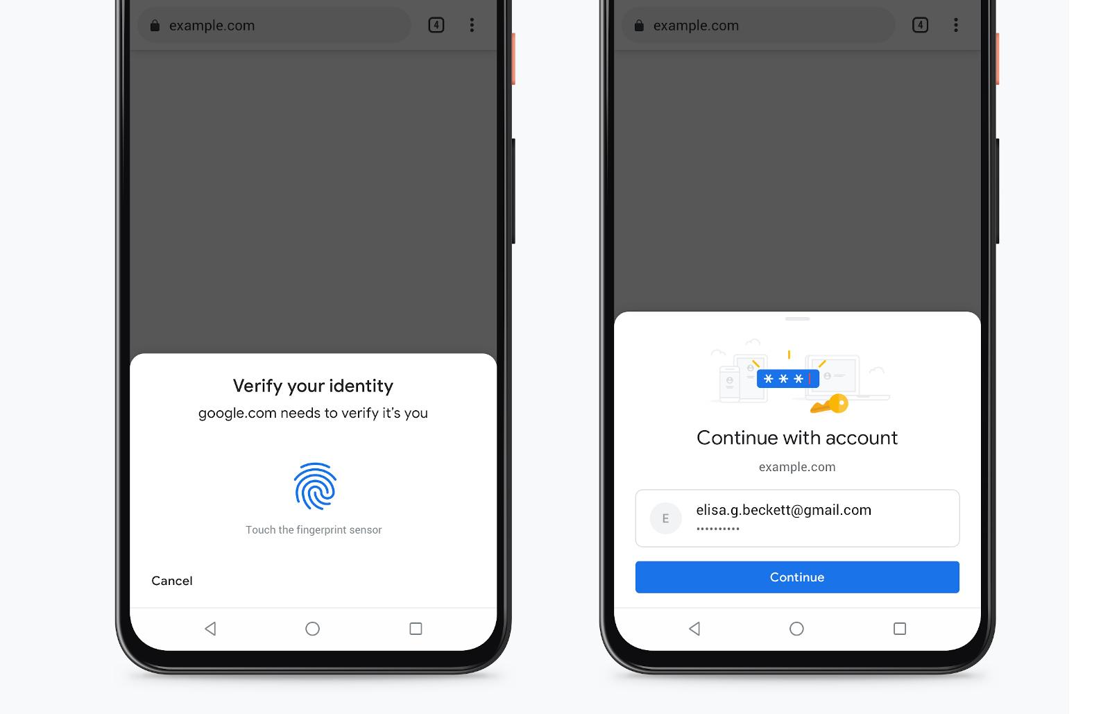 Google tightens Chrome's autofill security with biometric checks #rwanda #RwOT #yks2020