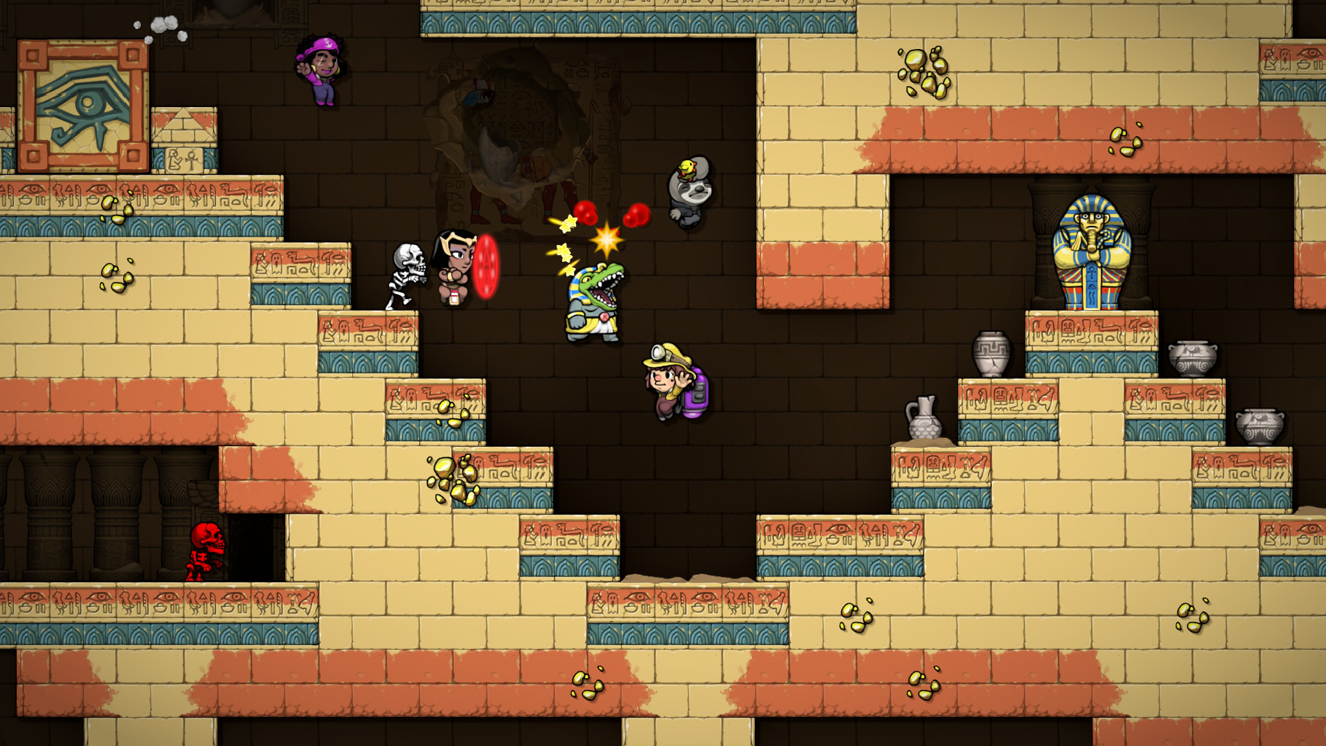 Delayed Roguelike Spelunky 2 Comes To Ps4 On September 15th Engadget