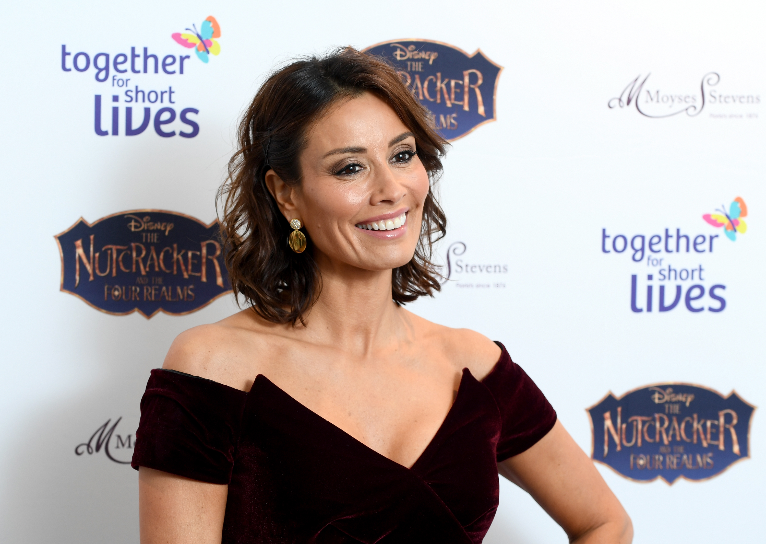 Melanie Sykes appeared to not isolate after returning from Italy. (Photo by Gareth Cattermole/Getty Images for Together For Short Livessss)