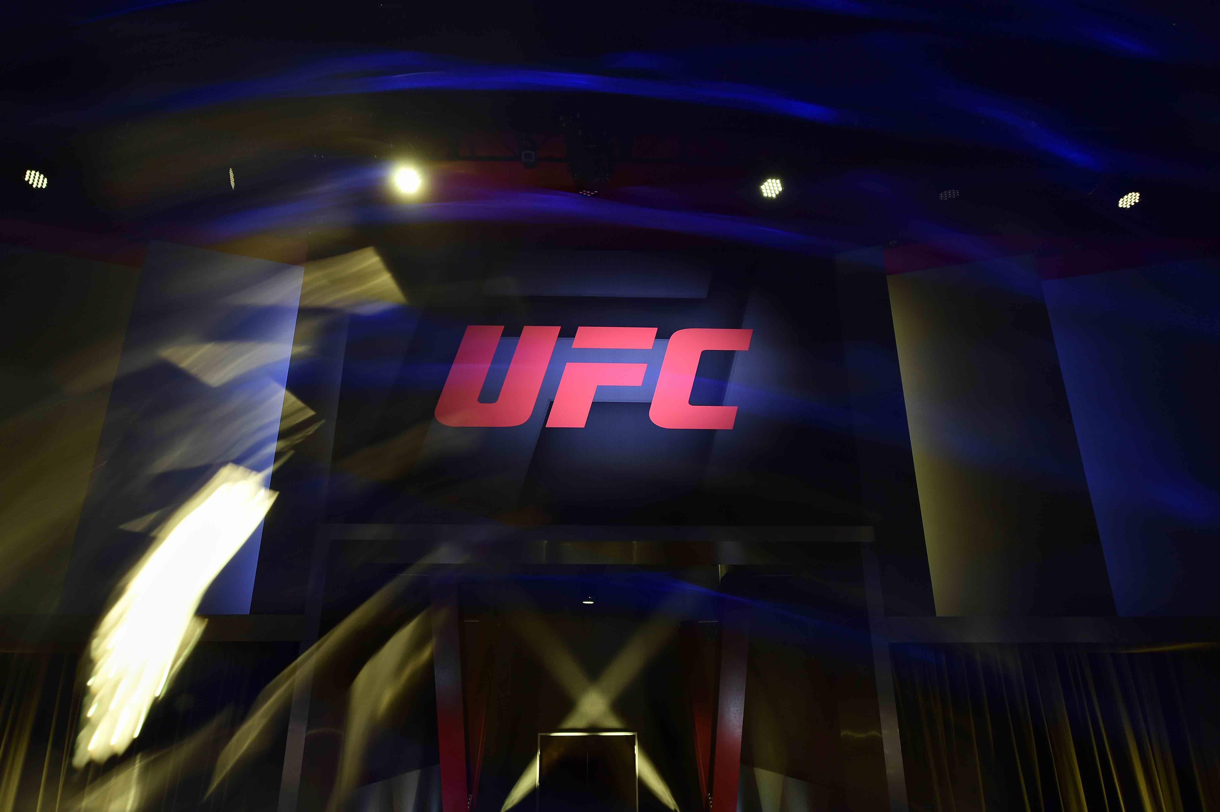 Foto do octógono do UFC