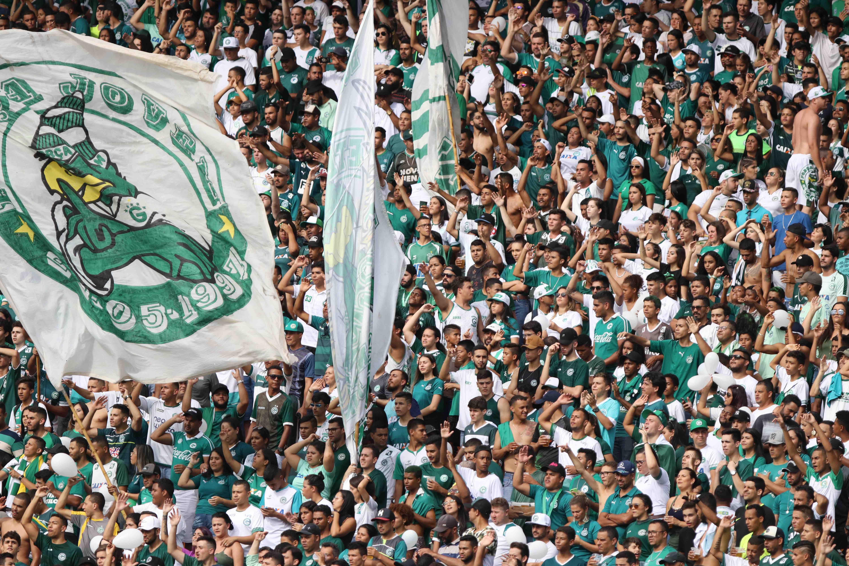 Foto da torcida do Goiás EC