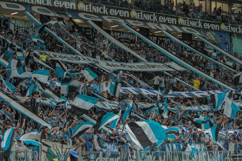 Foto da torcida do Grêmio