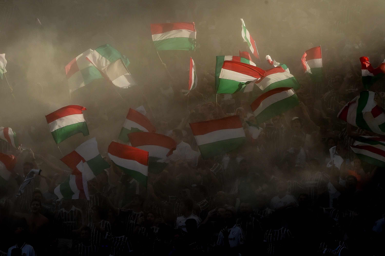 Foto da torcida do Fluminense