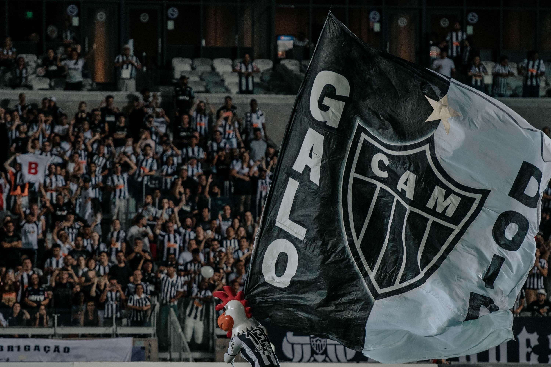Foto da torcida do Atlético Mineiro