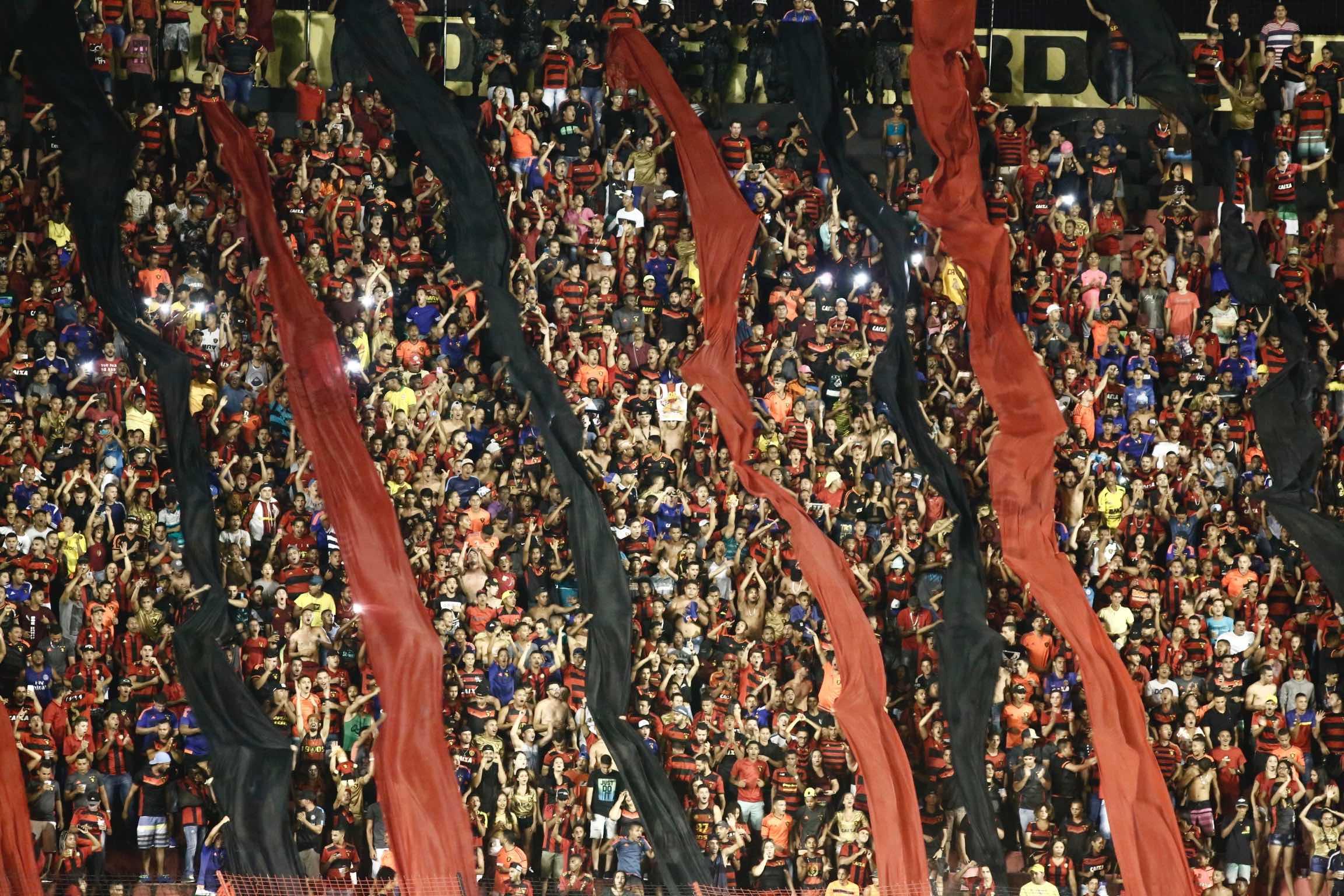Foto da torcida do Sport Club do Recife