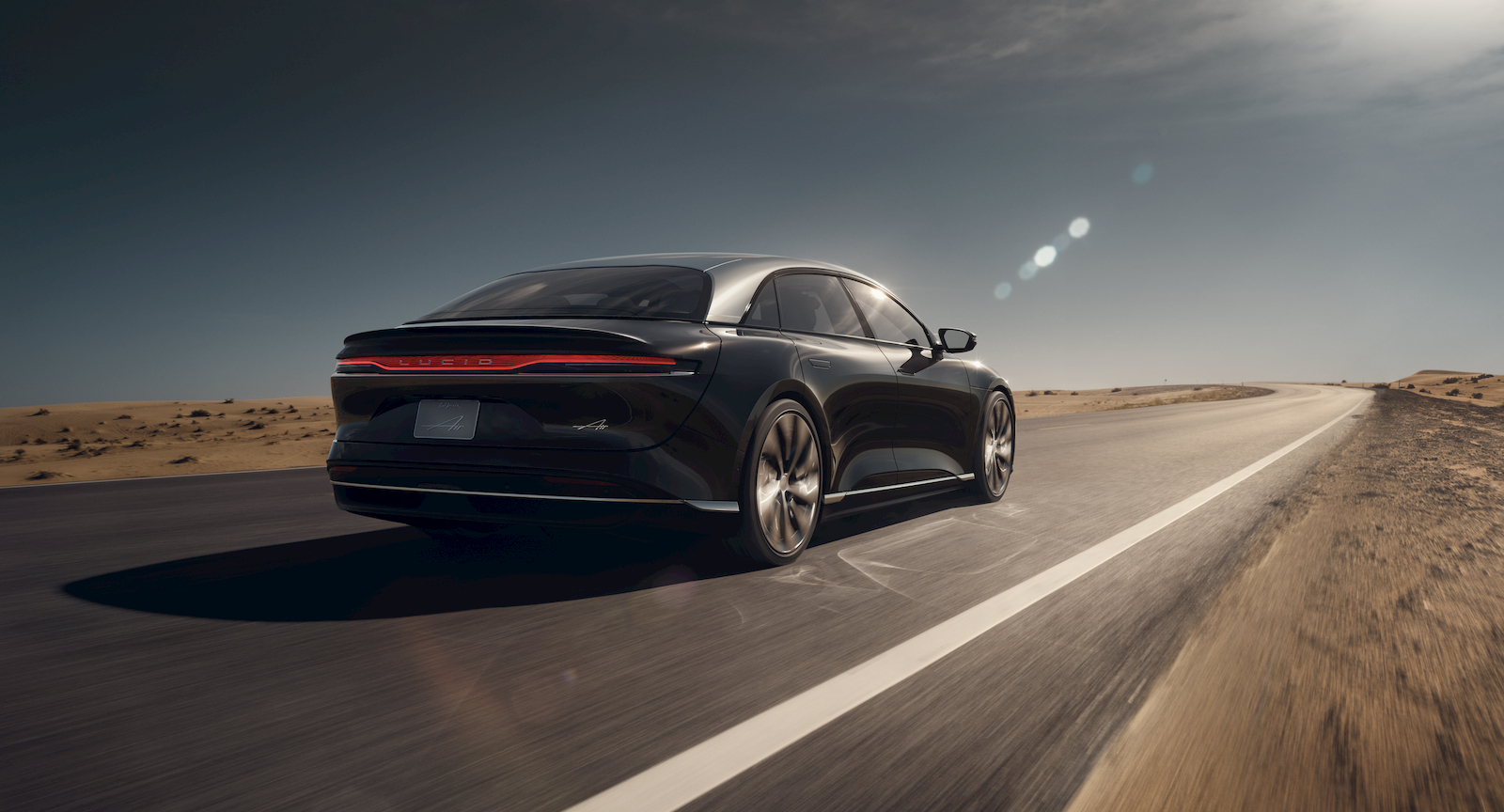 Lucid hints its first EV will have Tesla-beating range