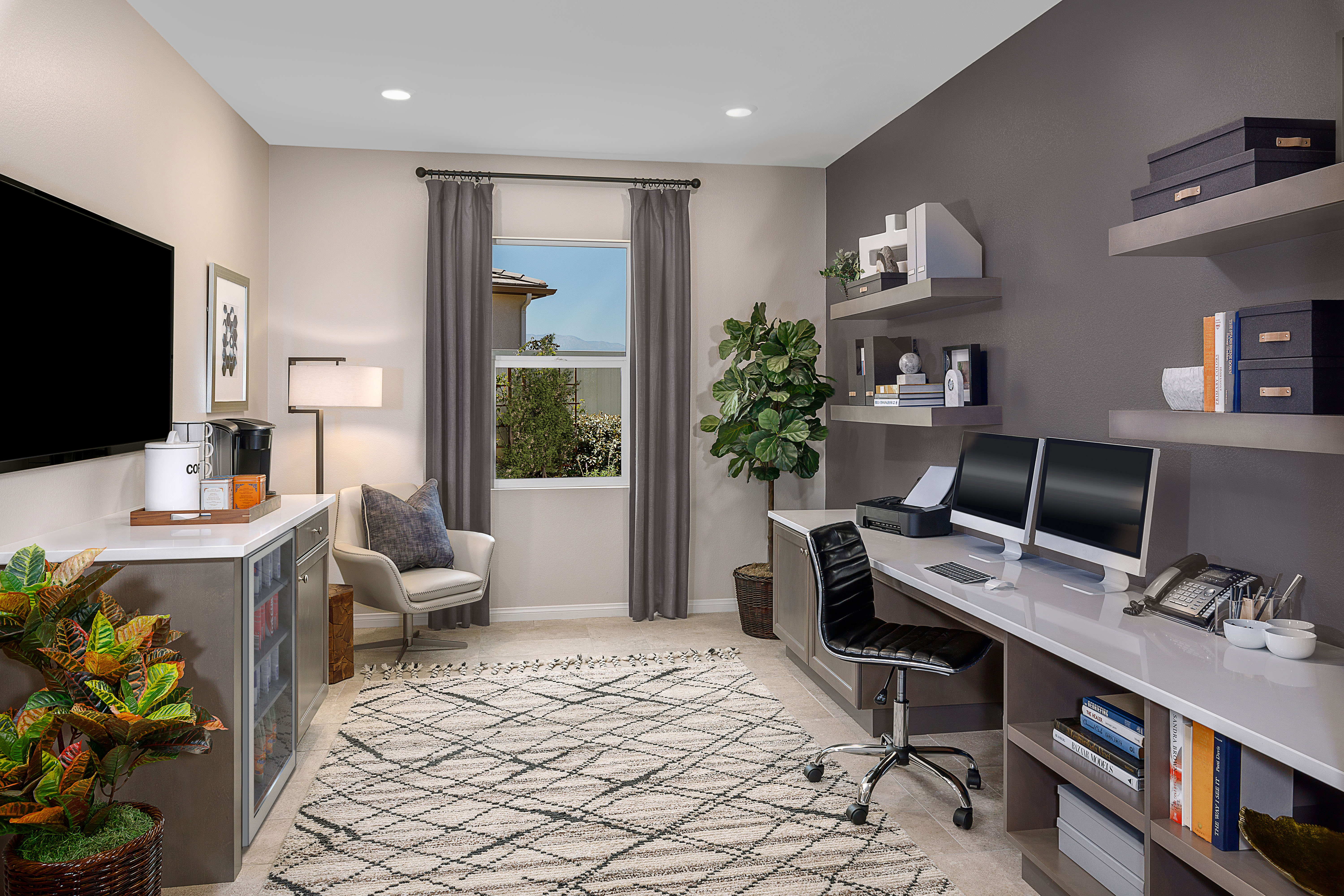 Kb Home Offers Buyers Custom Home Offices For The First Time