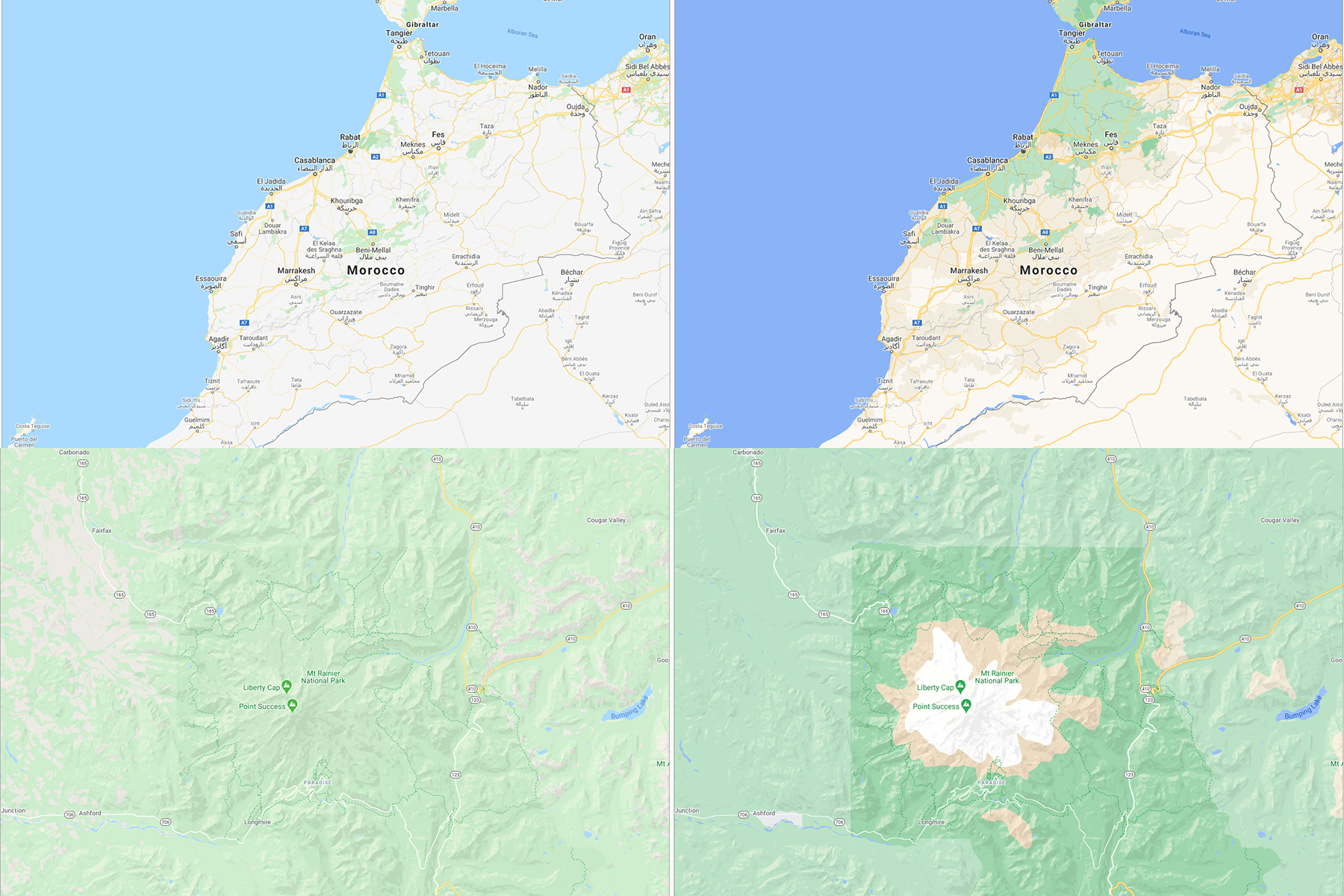 Google Maps update makes it easier to see an area's actual landscape   Engadget