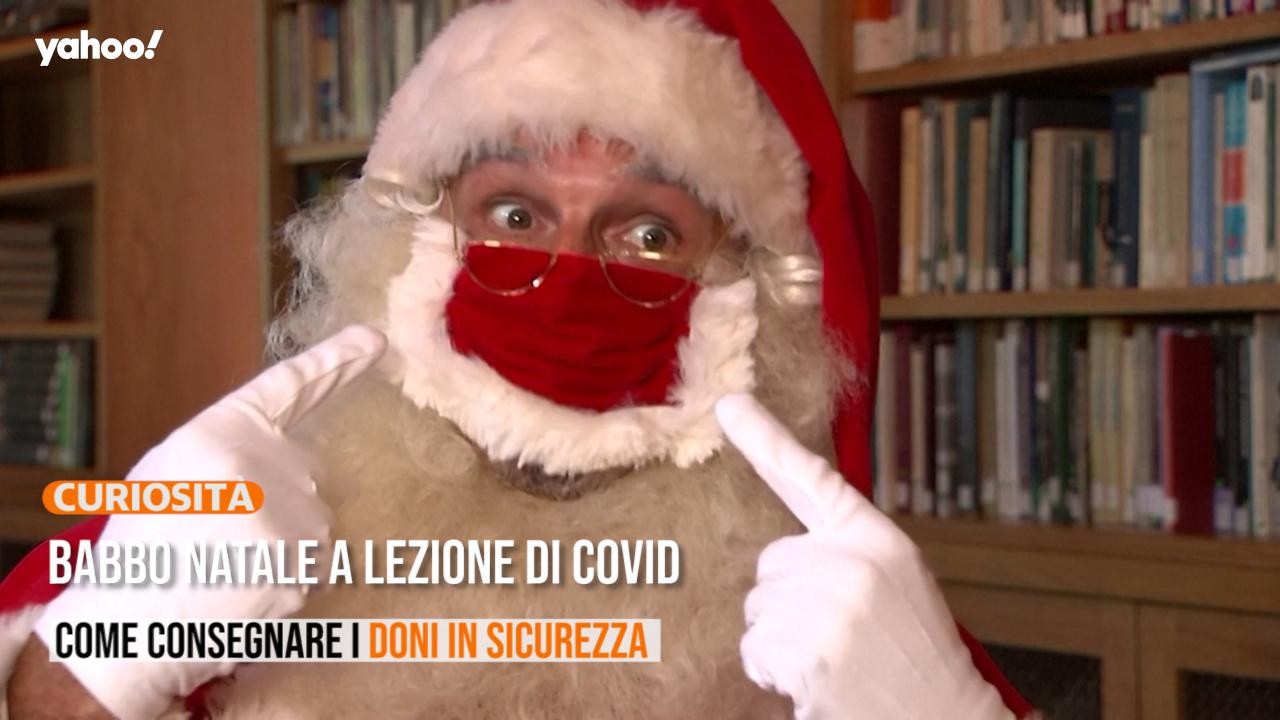 Il Babbo Natale.Babbo Natale A Lezione Di Covid