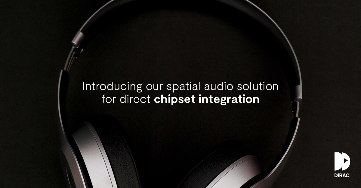 engadget.com - Billy Steele - Dirac's spatial audio tech will soon be built into wireless headphones