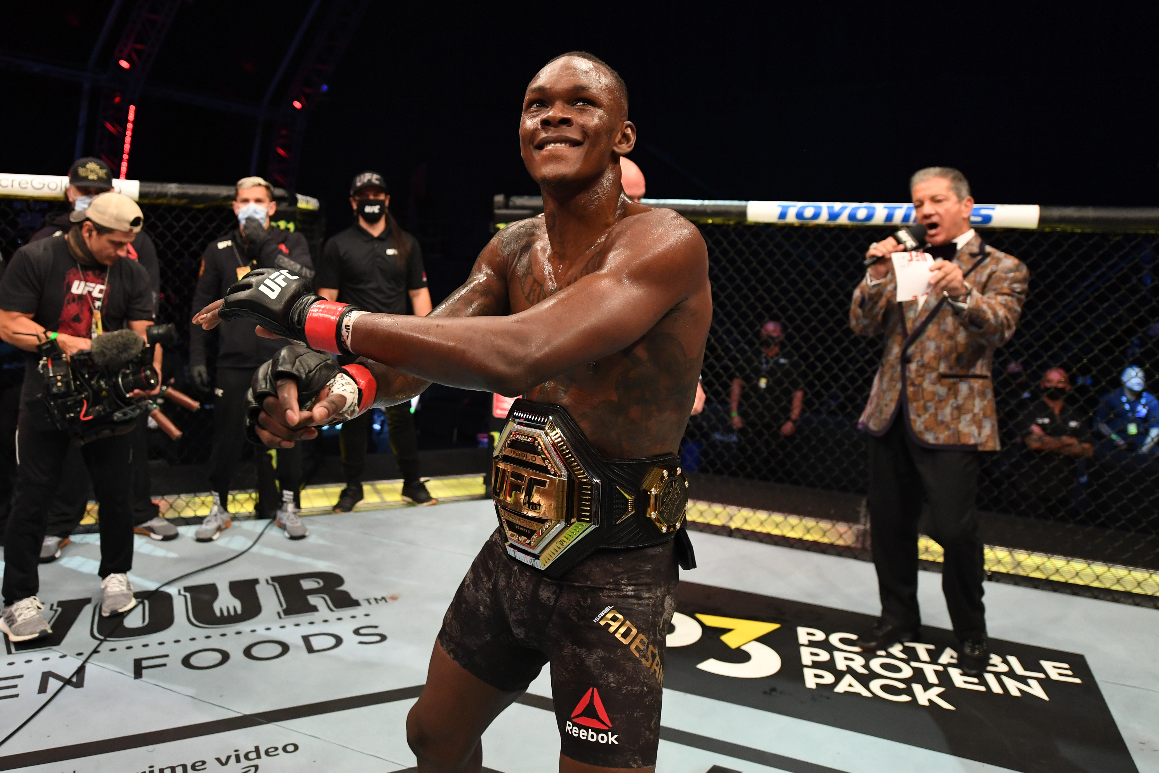 UFC 253: Superstar champ Israel Adesanya is the truth