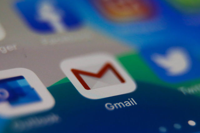 Gmail app in iOS