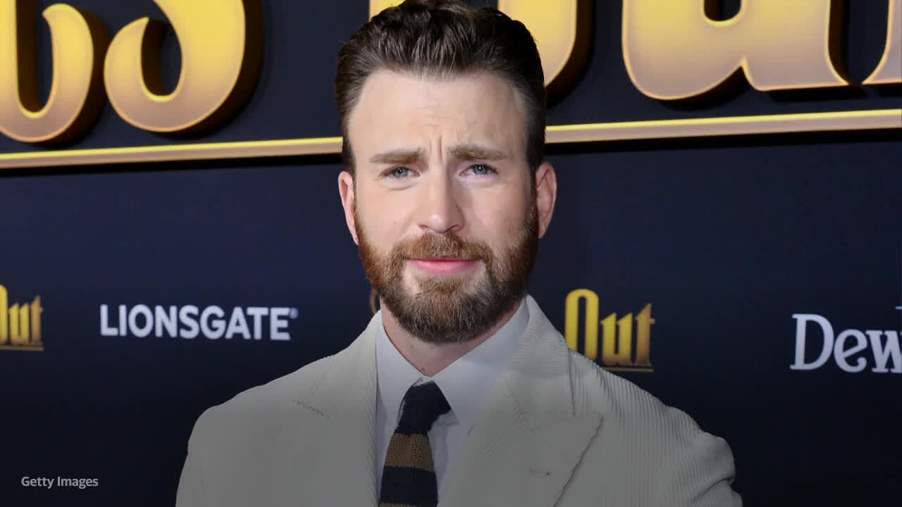Now That I Have Your Attention: Chris Evans Handles Nude