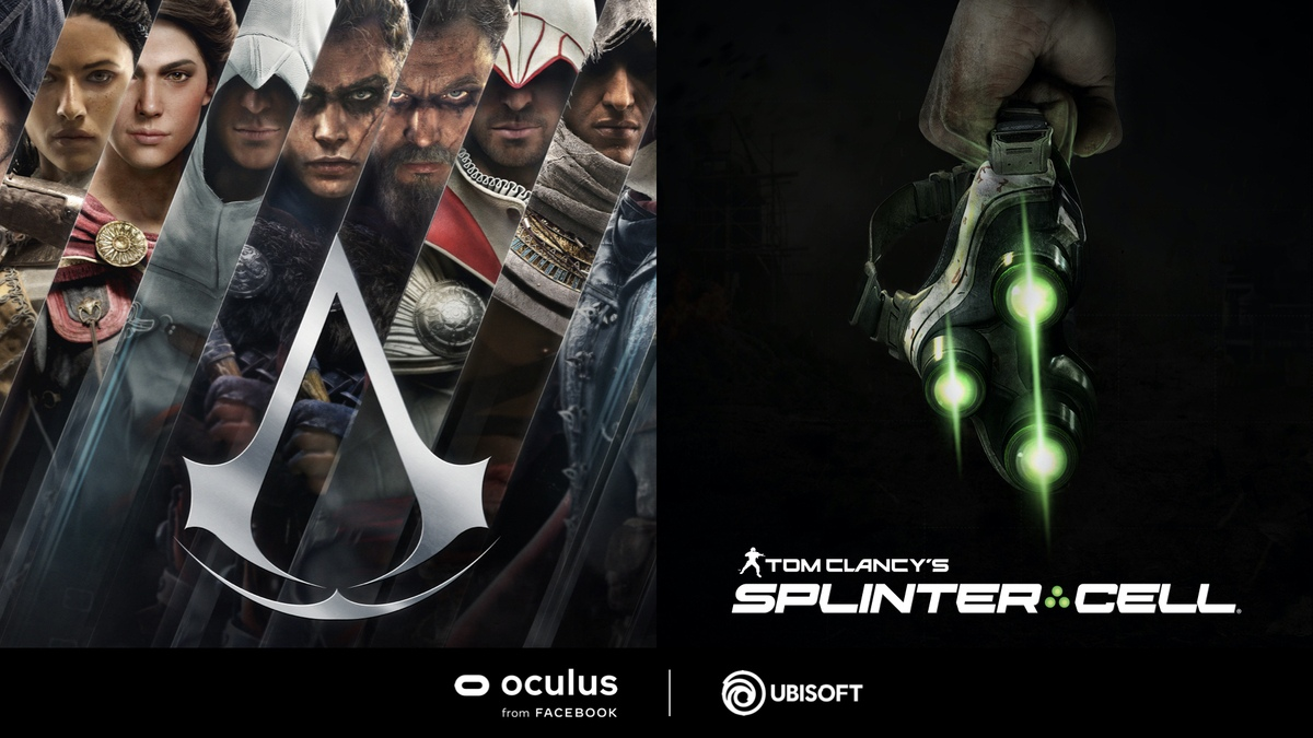 'Assassin's Creed' and 'Splinter Cell' are coming to Oculus | Engadget